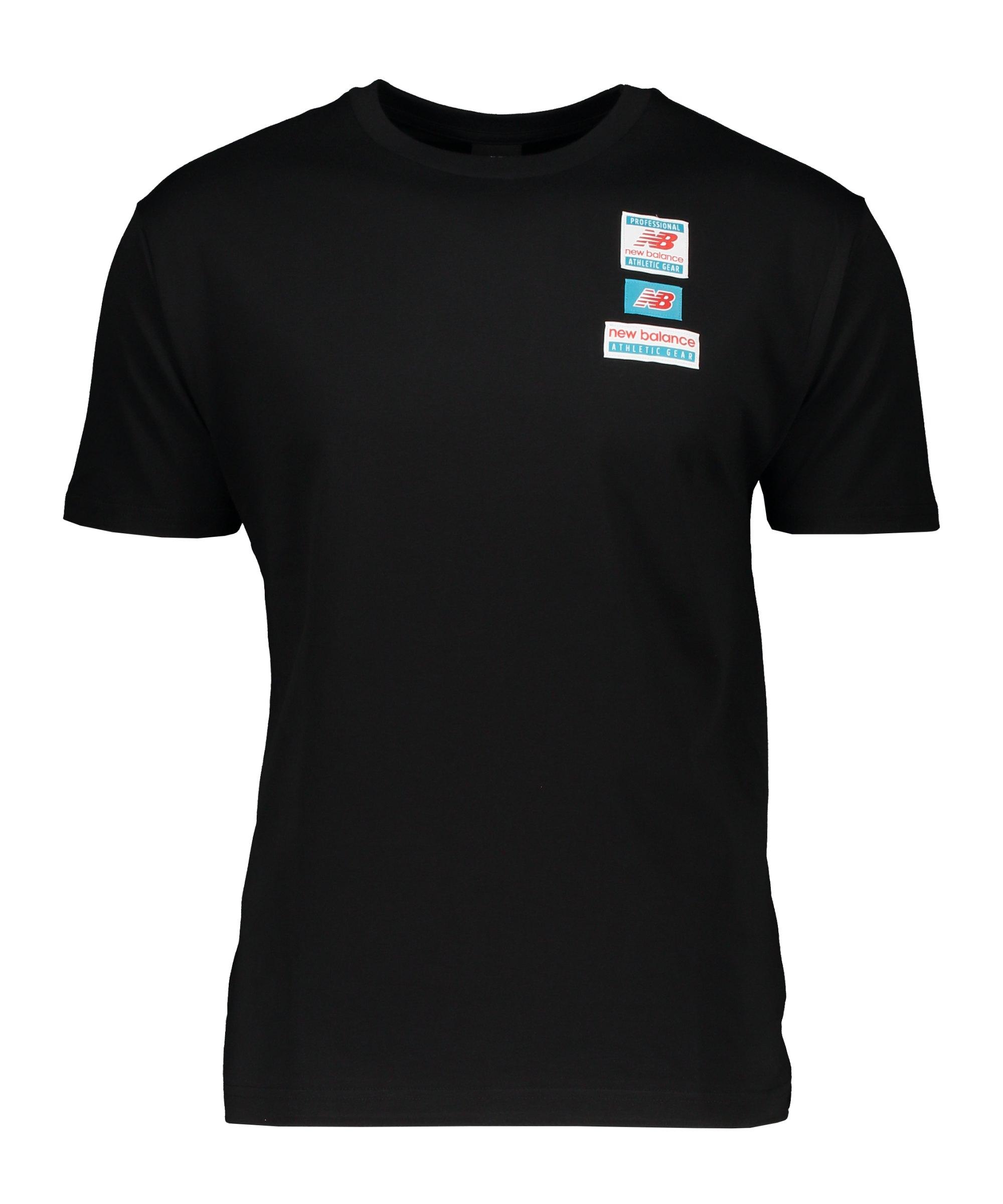 New Balance Essentials Tag T-Shirt Schwarz FBK - schwarz