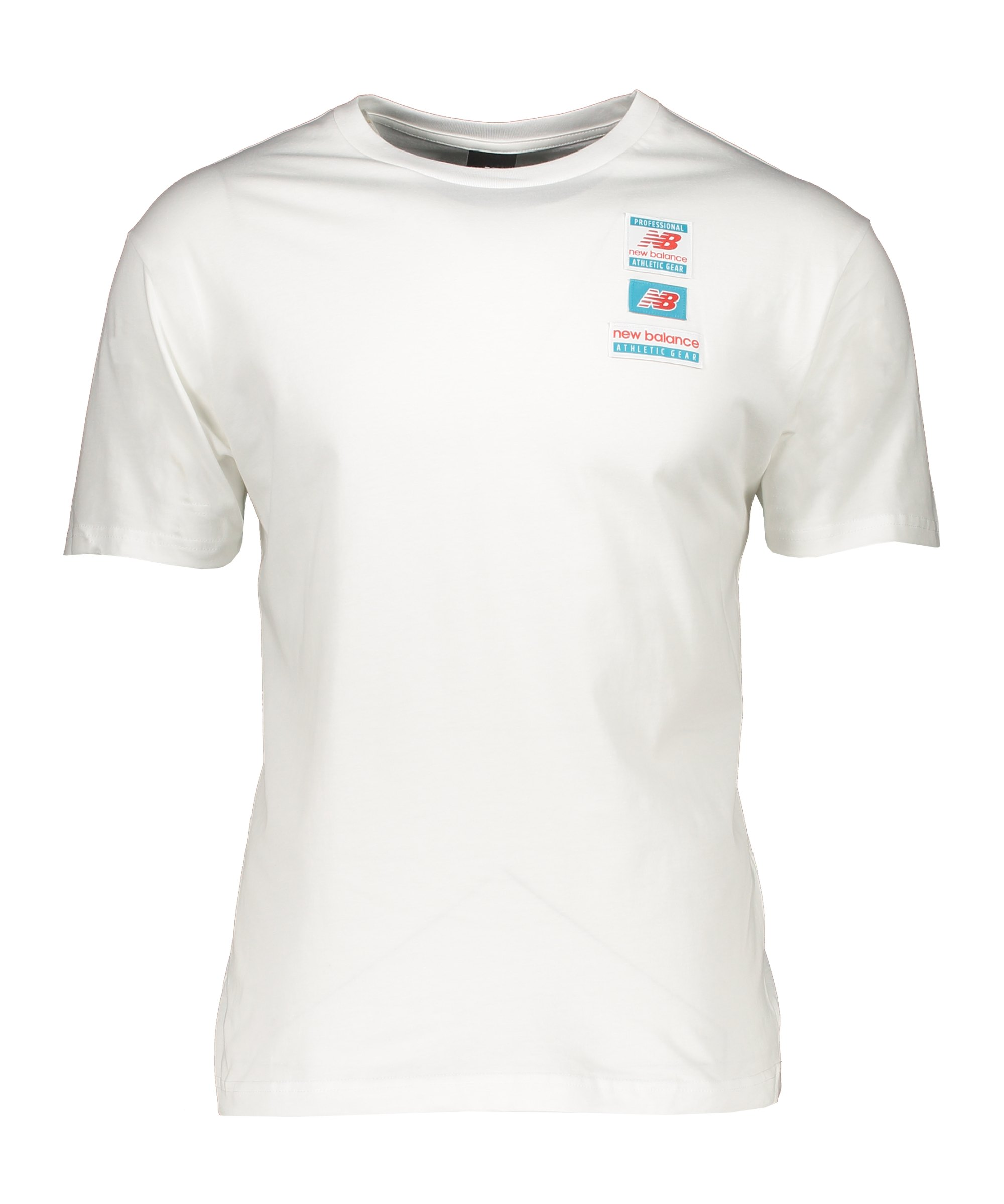 New Balance Essentials Tag T-Shirt Weiss FWT - weiss