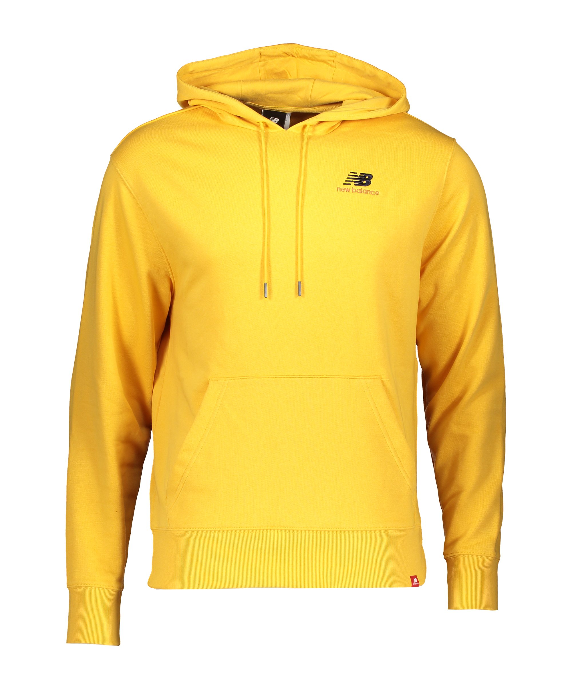 New Balance Essentials Embroidered Hoody FASE - gelb
