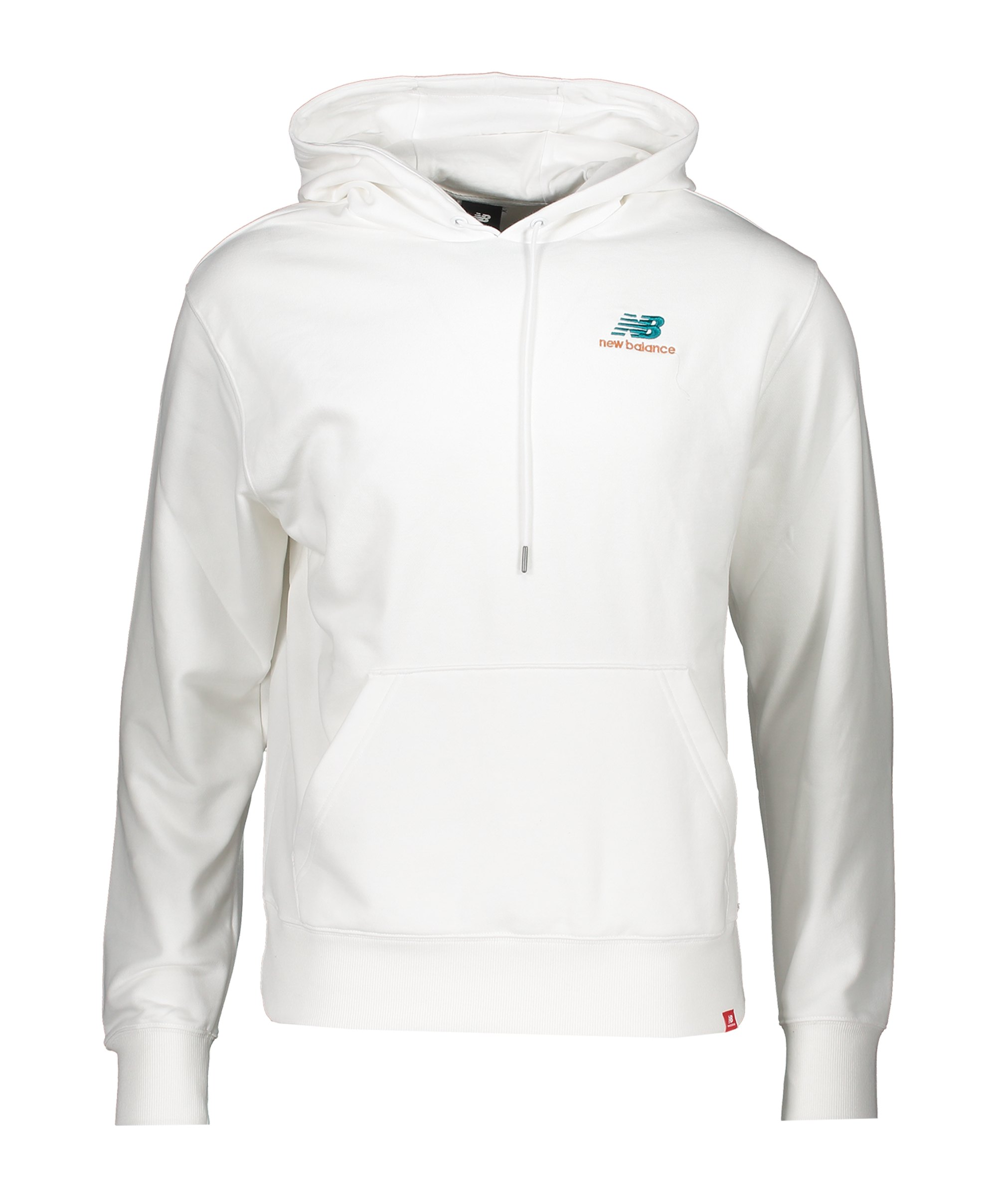 New Balance Essentials Embroidered Hoody FWT - weiss