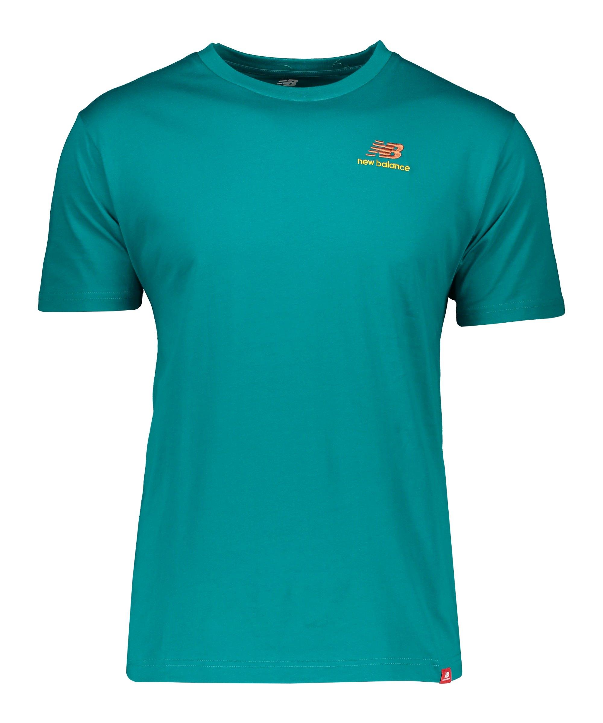 New Balance Essentials Embr T-Shirt FTMT - gruen