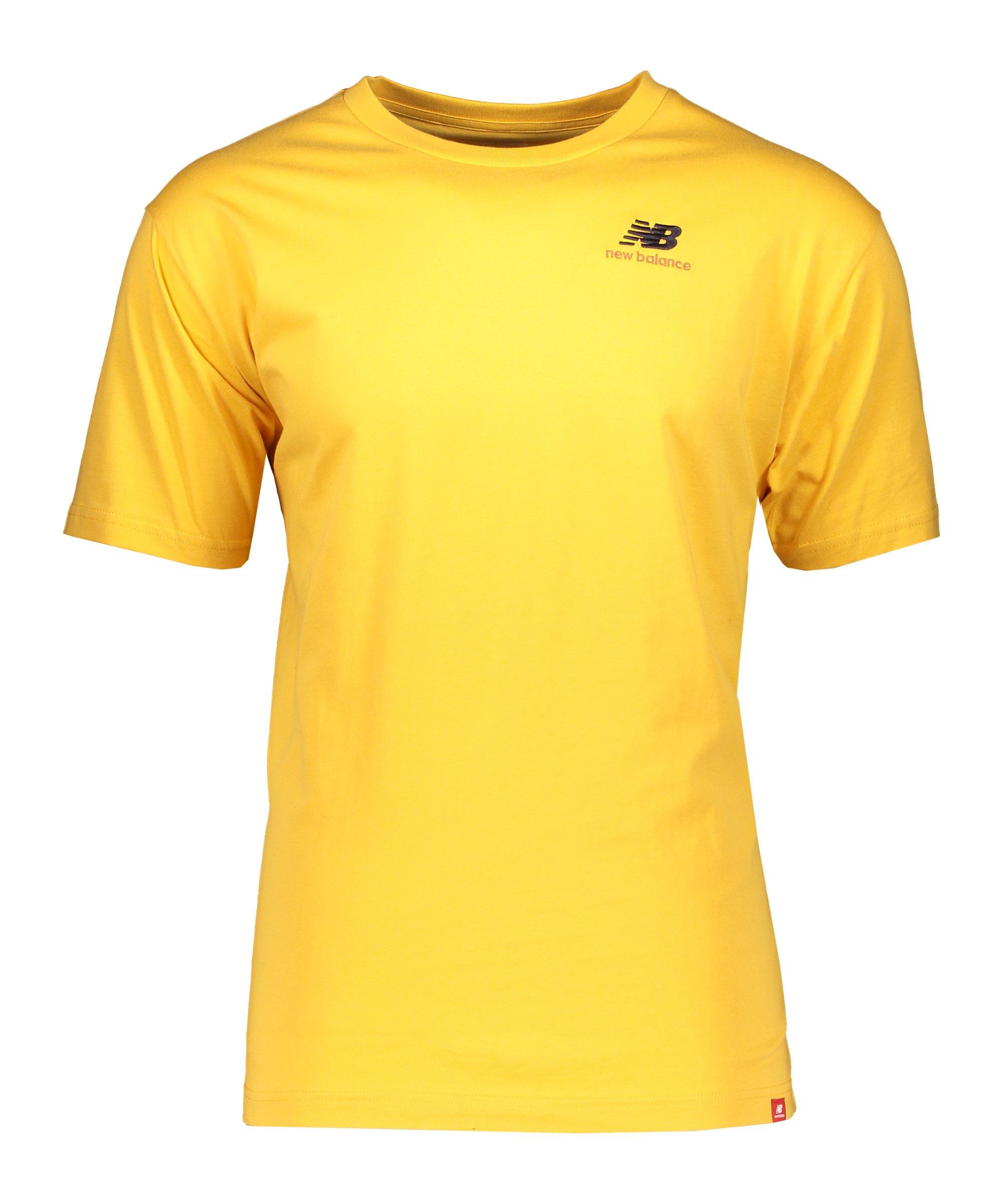 New Balance Essentials Embre T-Shirt Rot FASE - gelb
