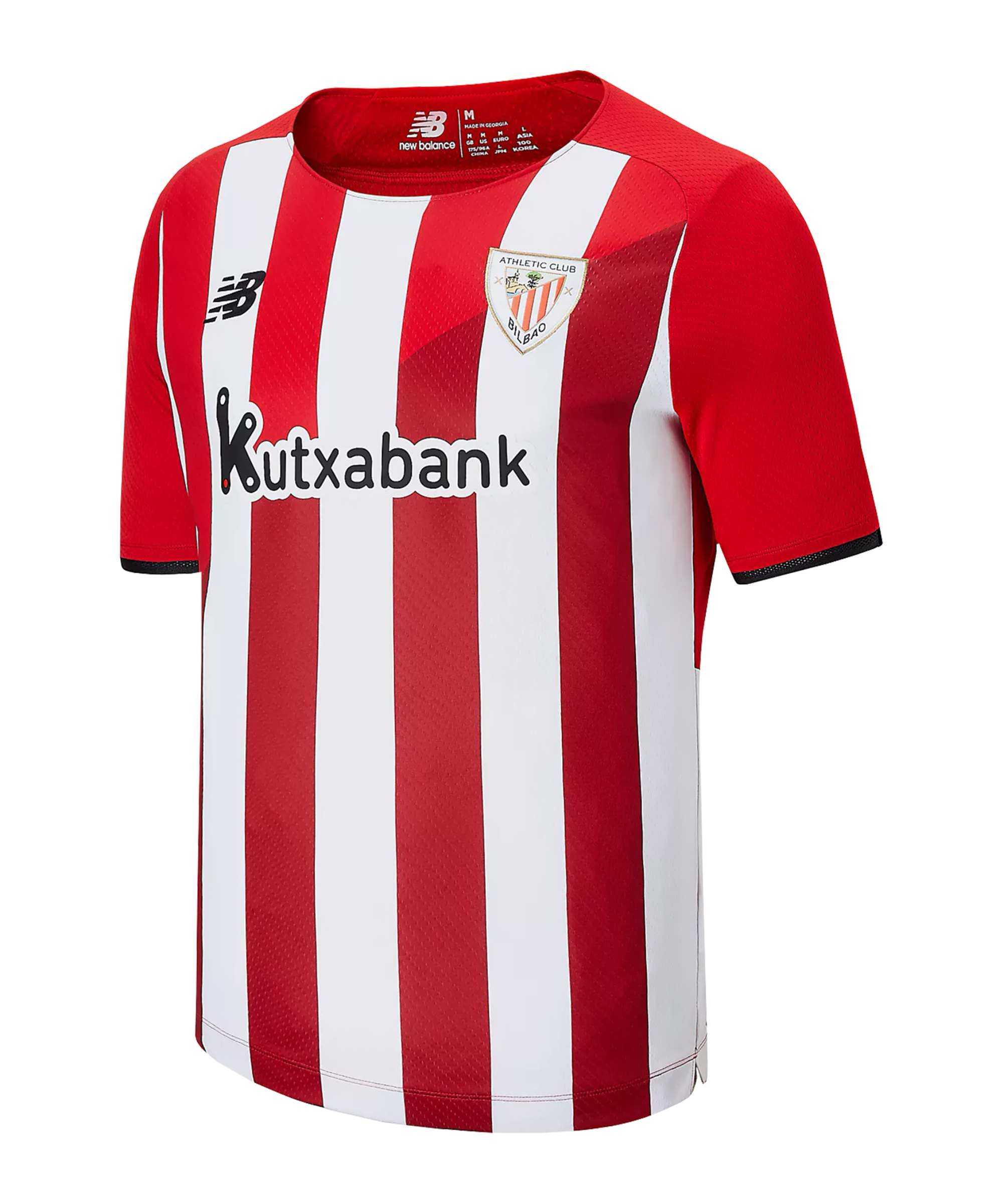 New Balance Athletic Bilbao Trikot Home 2021/2022 Rot Weiss FHME - rot
