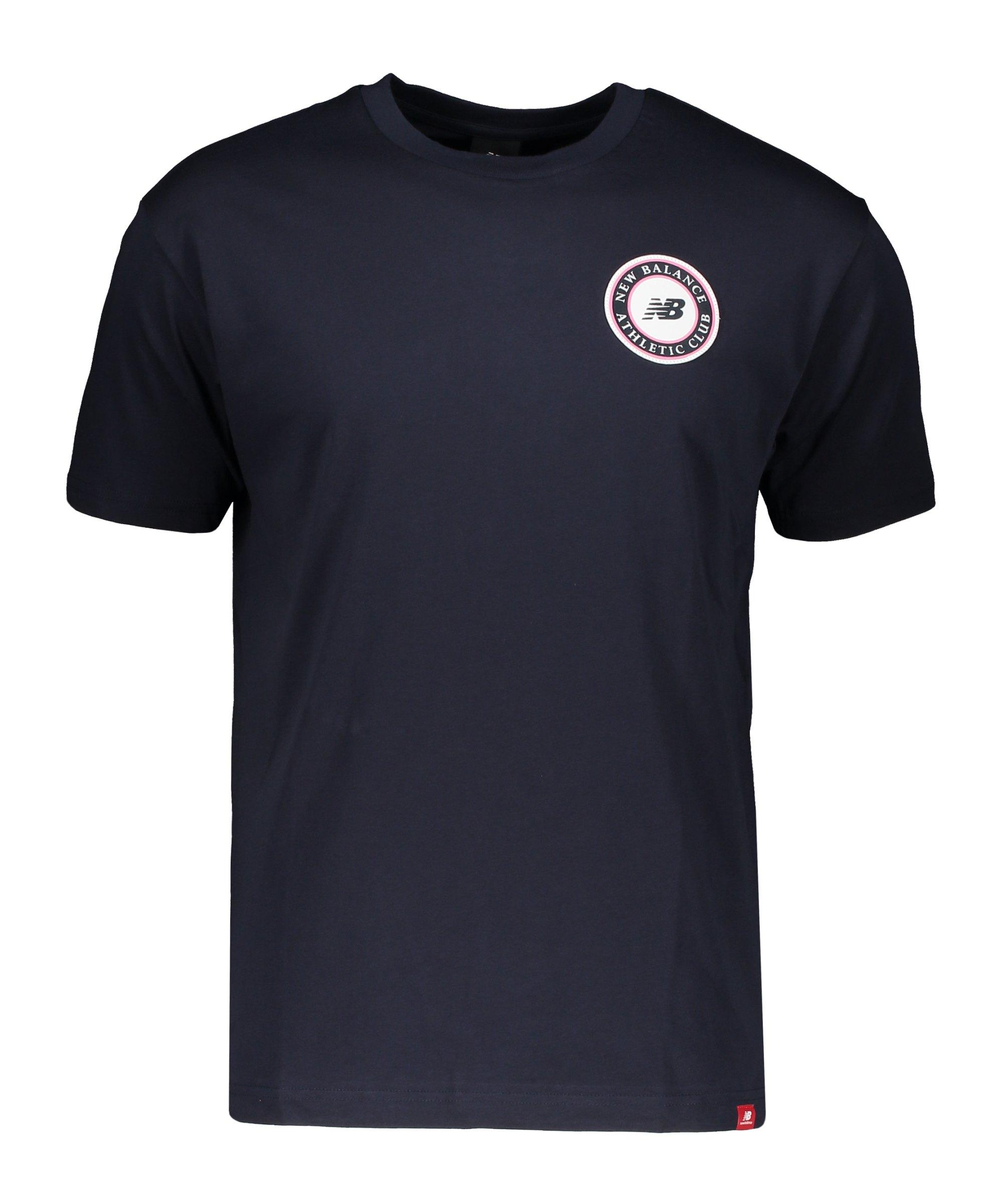 New Balance Essentials Club T-Shirt Blau FECL - blau