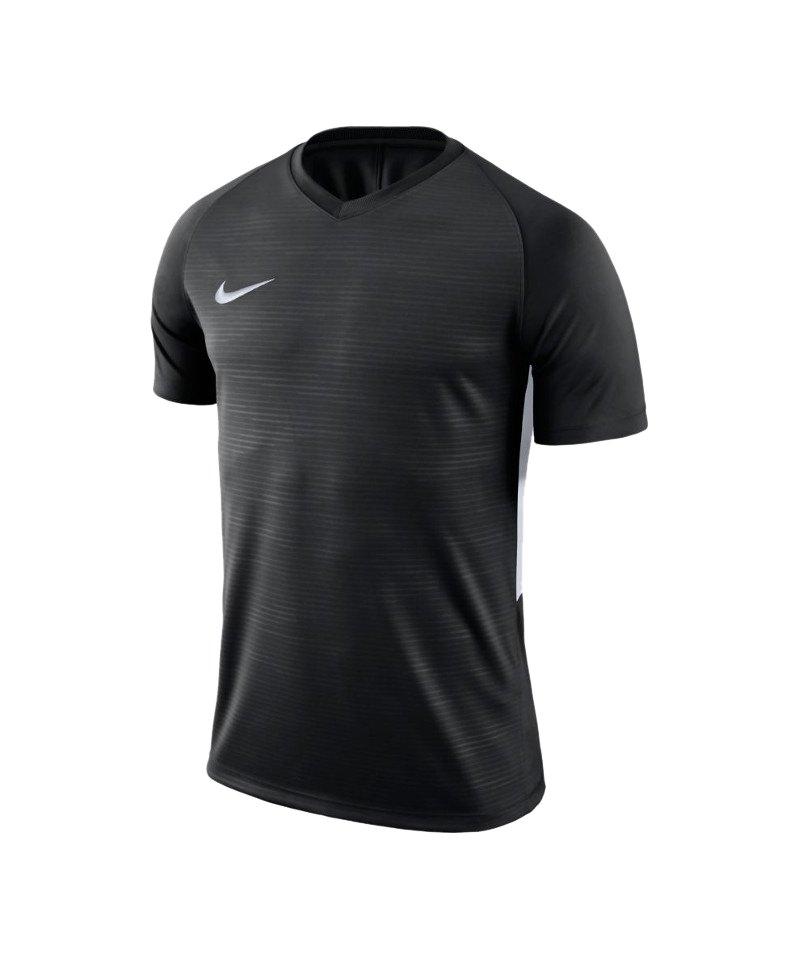 Nike Tiempo Premier Trikot Schwarz Weiss F010 - schwarz