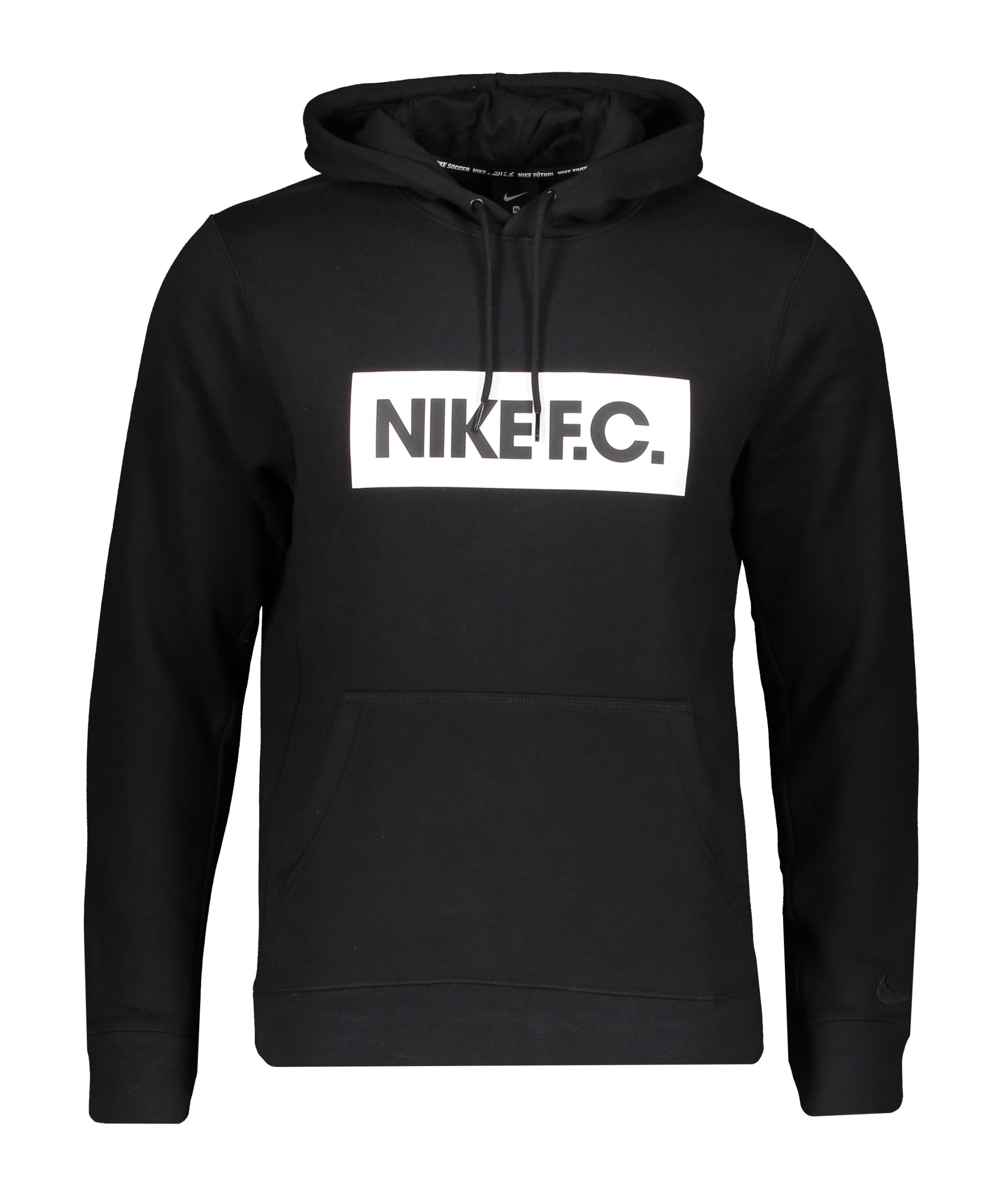 Nike F.C. Fleece Hoody Schwarz F010 - schwarz
