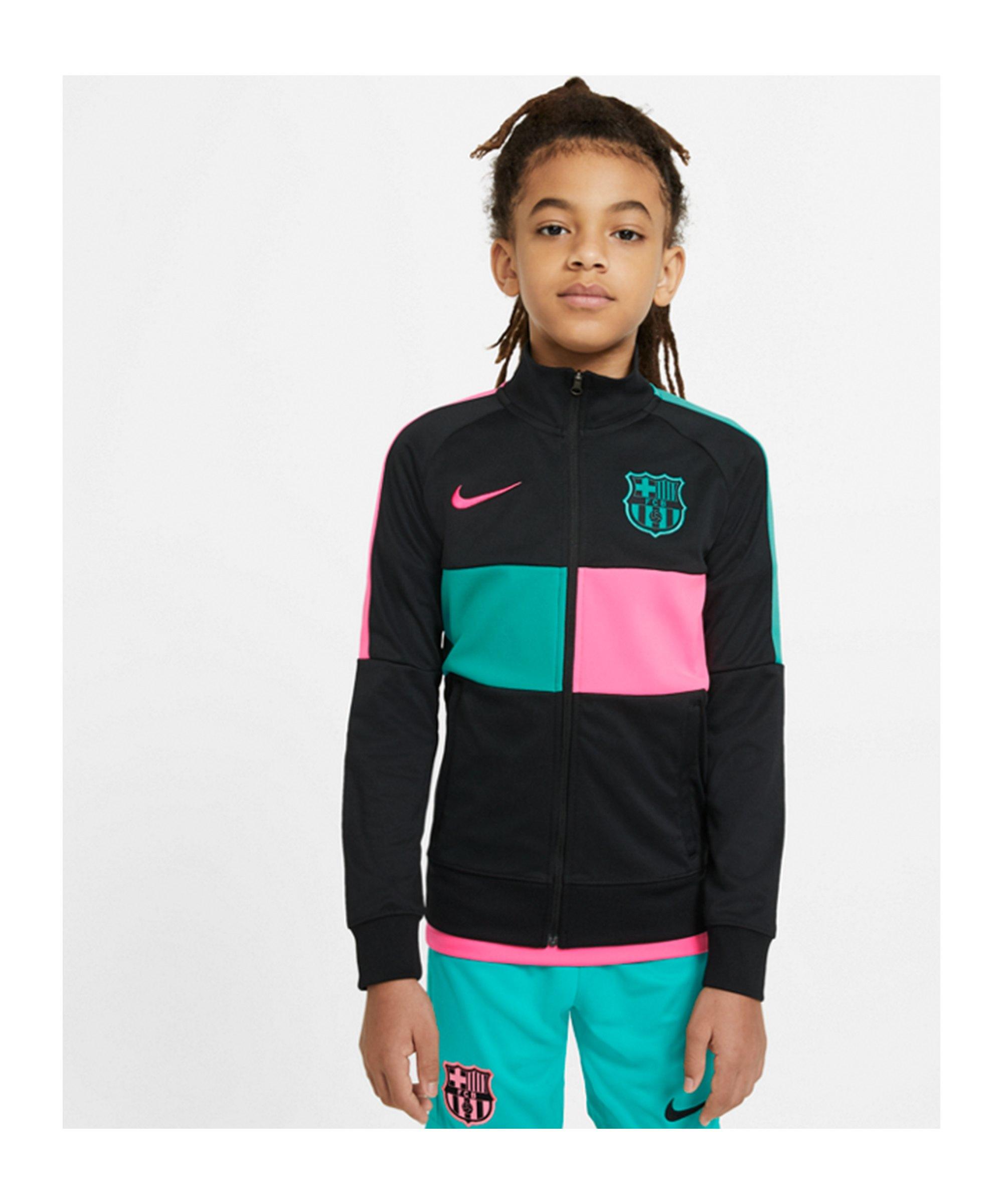 Nike FC Barcelona I96 Anthem Jacke Kids F010 - schwarz