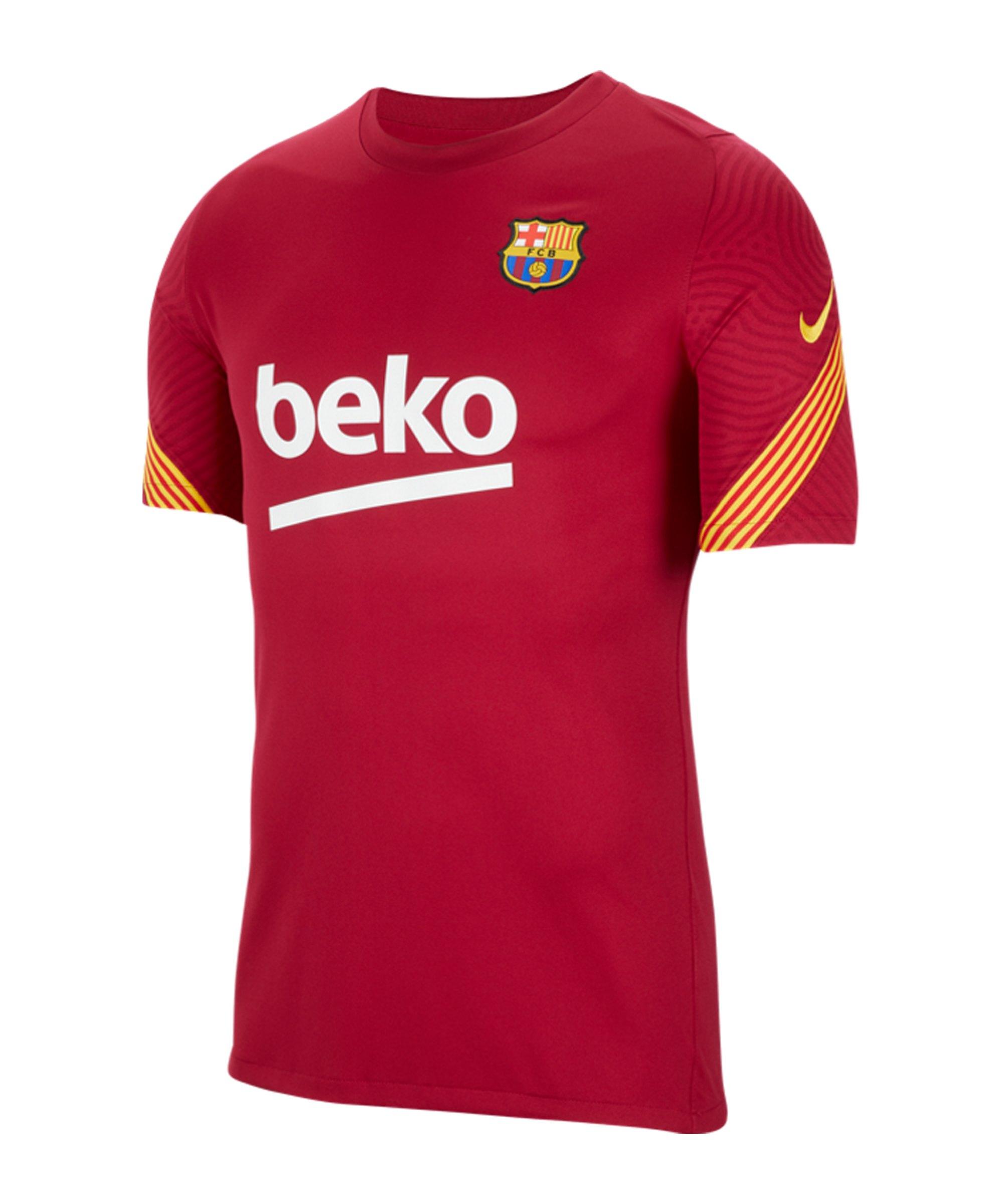 Nike FC Barcelona Strike Top Rot F621 - rot