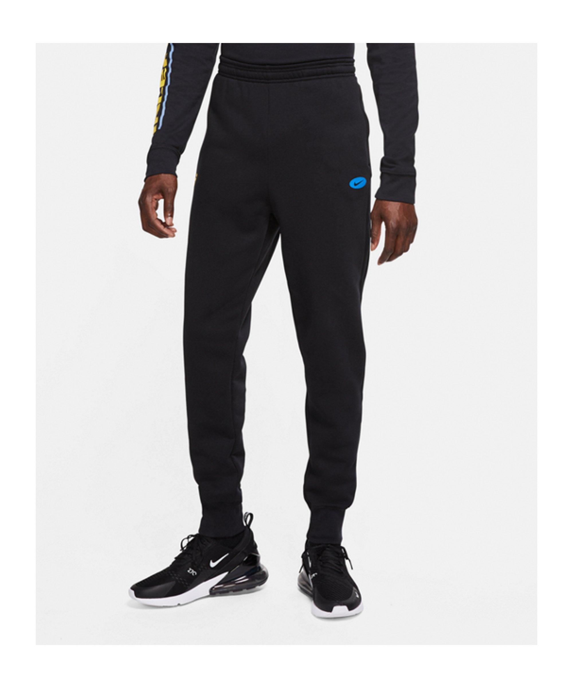 Nike Inter Mailand Trainingshose CL Schwarz F010 - schwarz