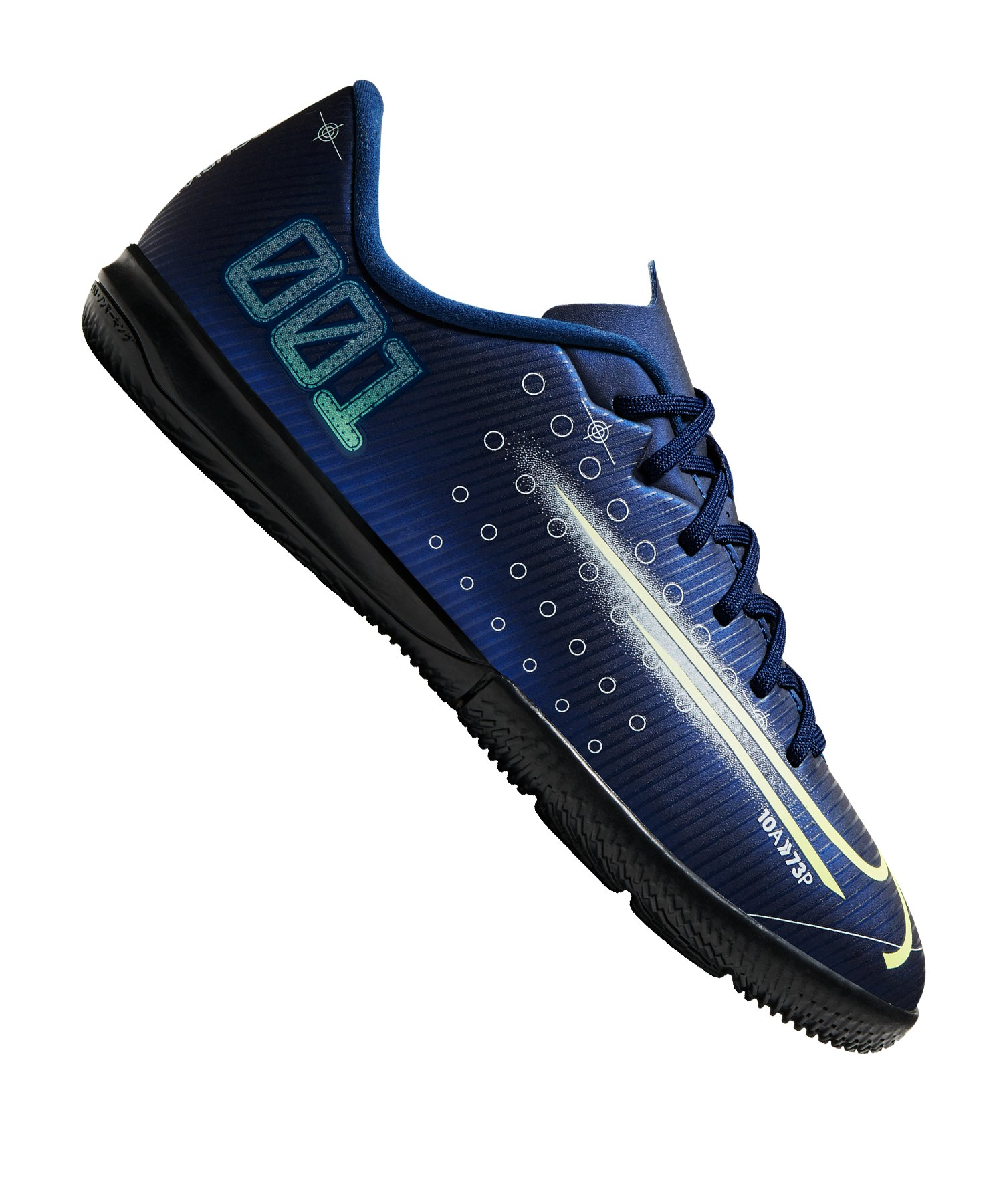 Nike Jr Mercurial Vapor XIII DS Academy IC Kids Blau F401 - blau