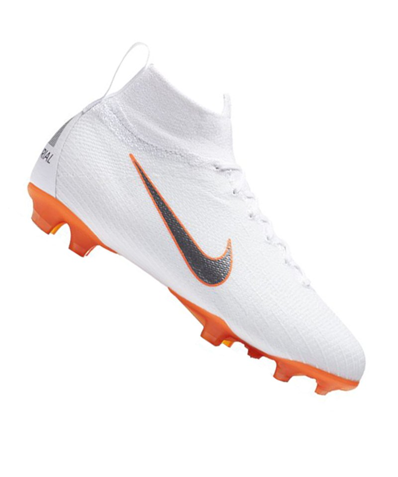 Nike Mercurial Superfly VI Elite FG Kids F107 - weiss