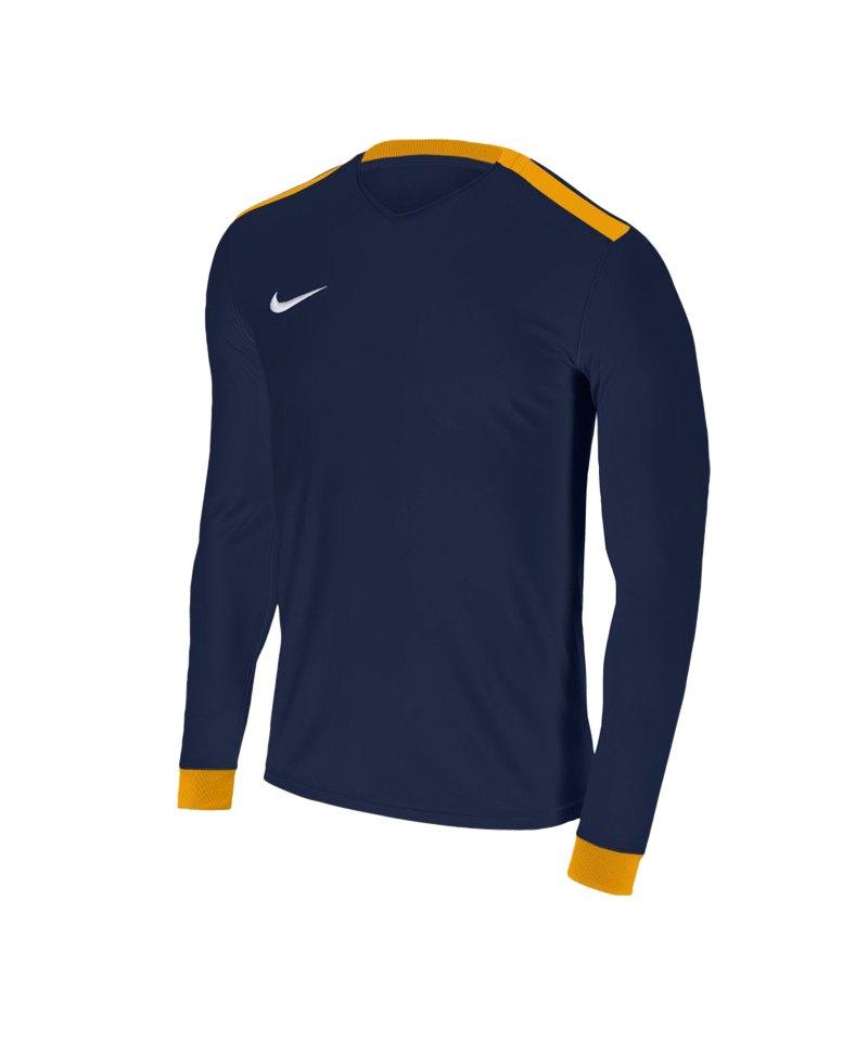 Nike Park Derby II Trikot langarm Kids F410 - blau