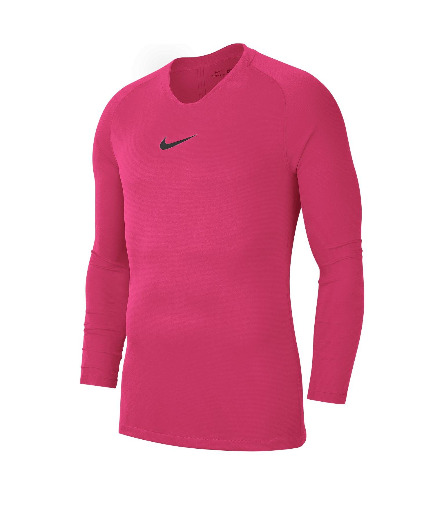 Nike Park First Layer Top langarm Pink F616 - pink