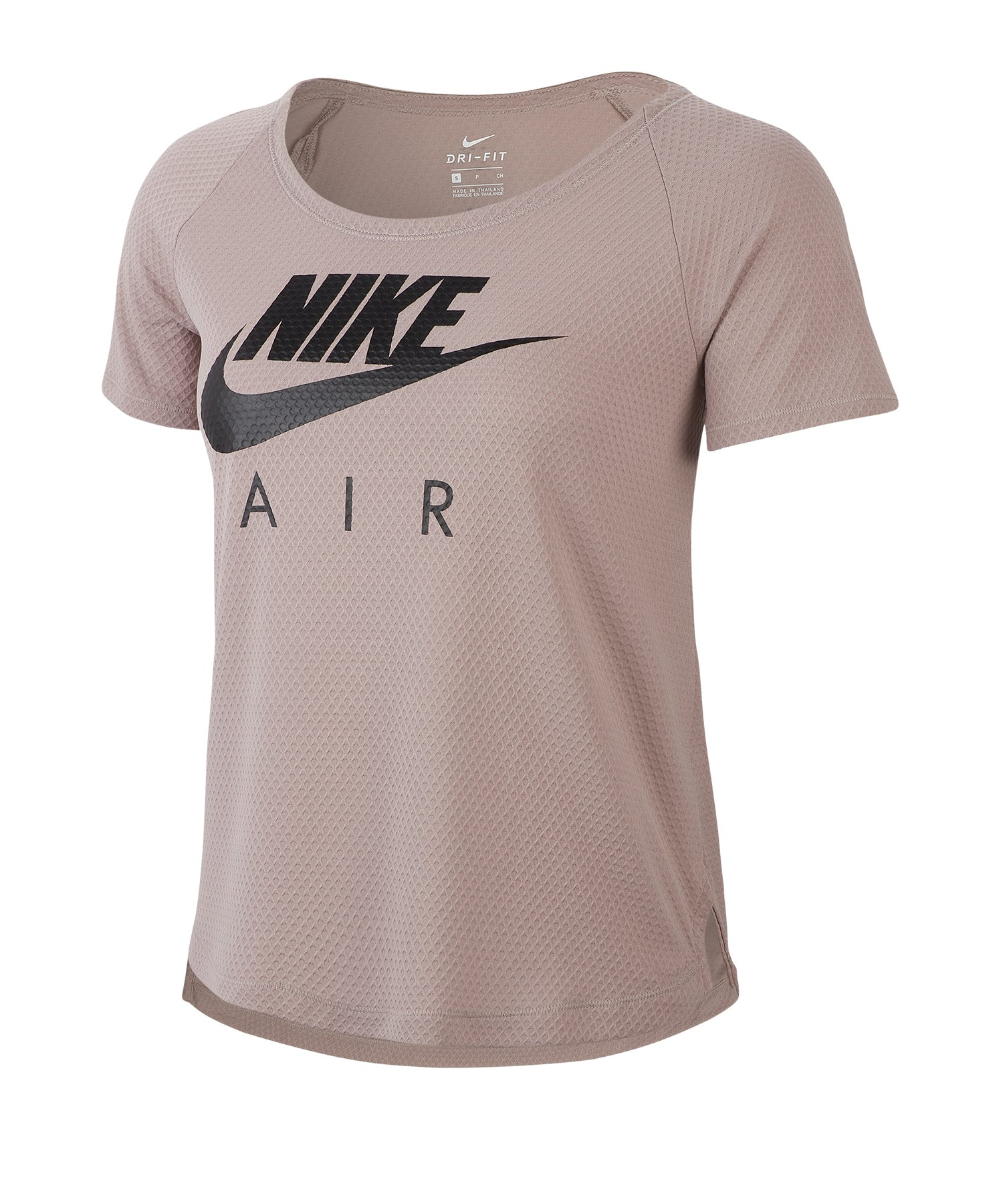 Nike Running Shirt kurzarm Damen Braun F218 - braun