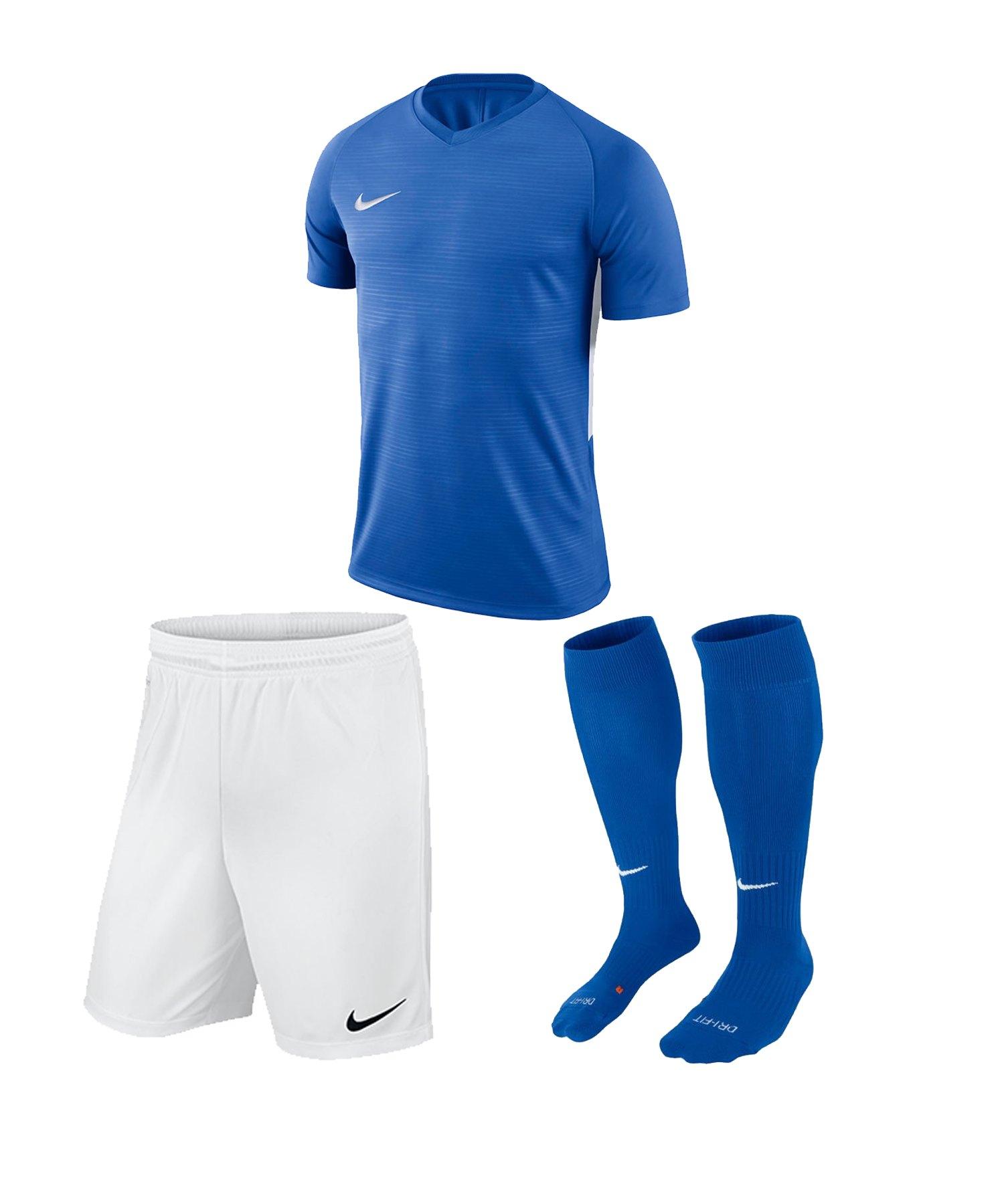 Nike Tiempo Premier Trikotset Kids Blau F463 - blau