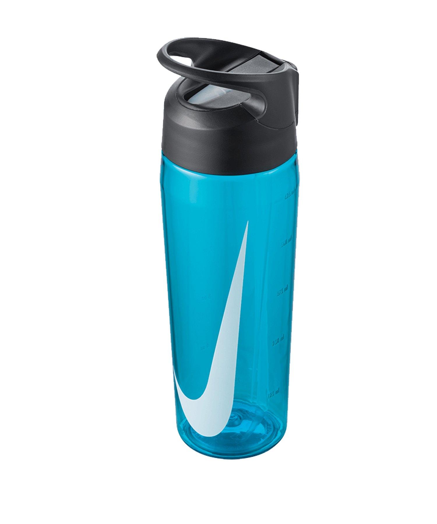 Nike TR Hypercharge Straw Bottle 709ml Blau F430 - blau