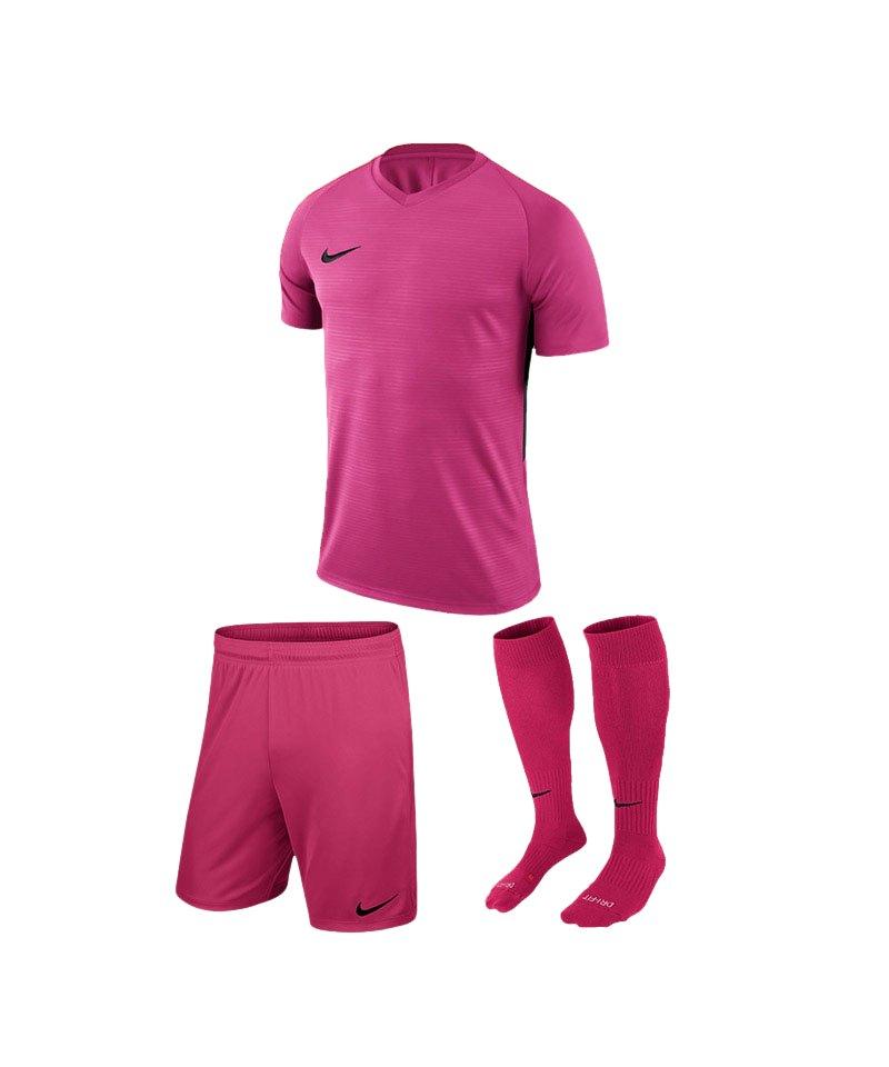 Nike Trikotset Tiempo Premier Pink Schwarz F662 - pink