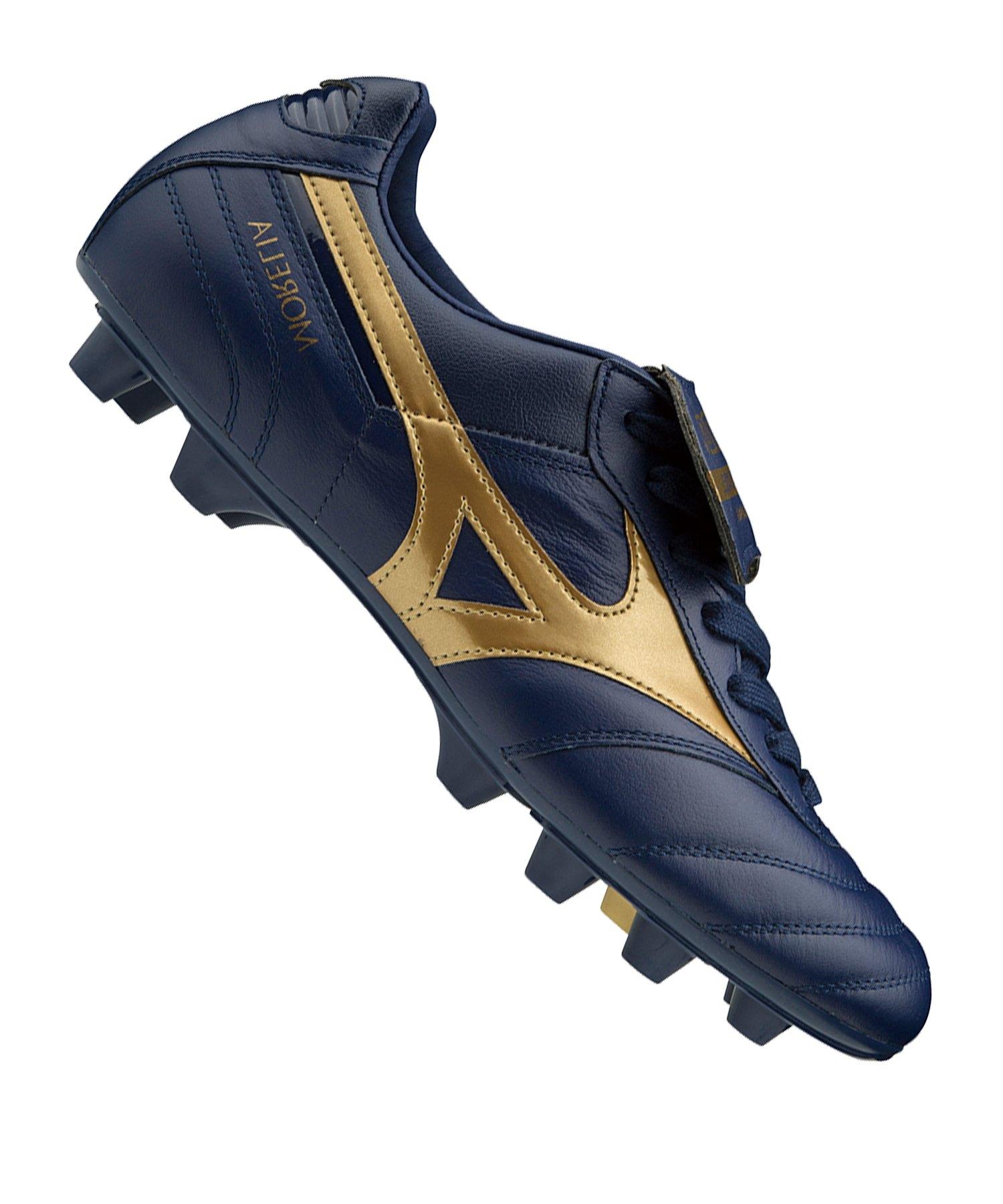 Mizuno Morelia II Japan FG Blau Gold F50 - blau