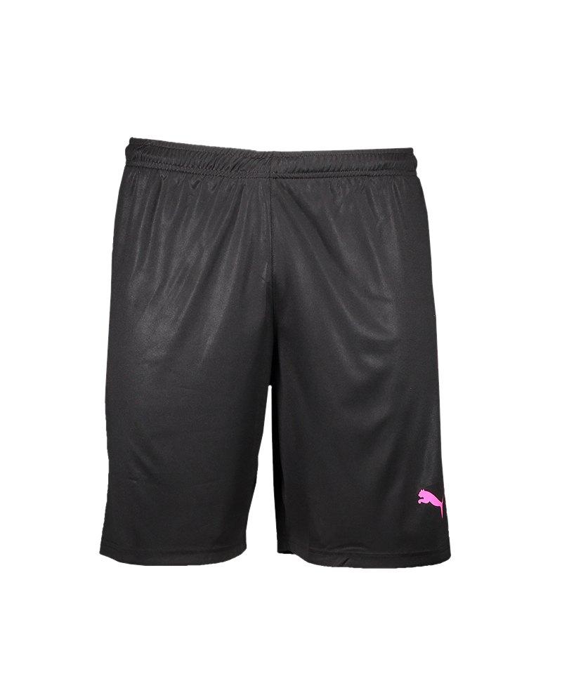 PUMA LIGA Short Schwarz Pink F41 - schwarz