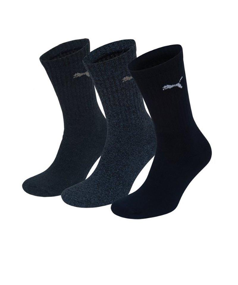 PUMA Socken Sport 3er Pack Blau F321 - blau
