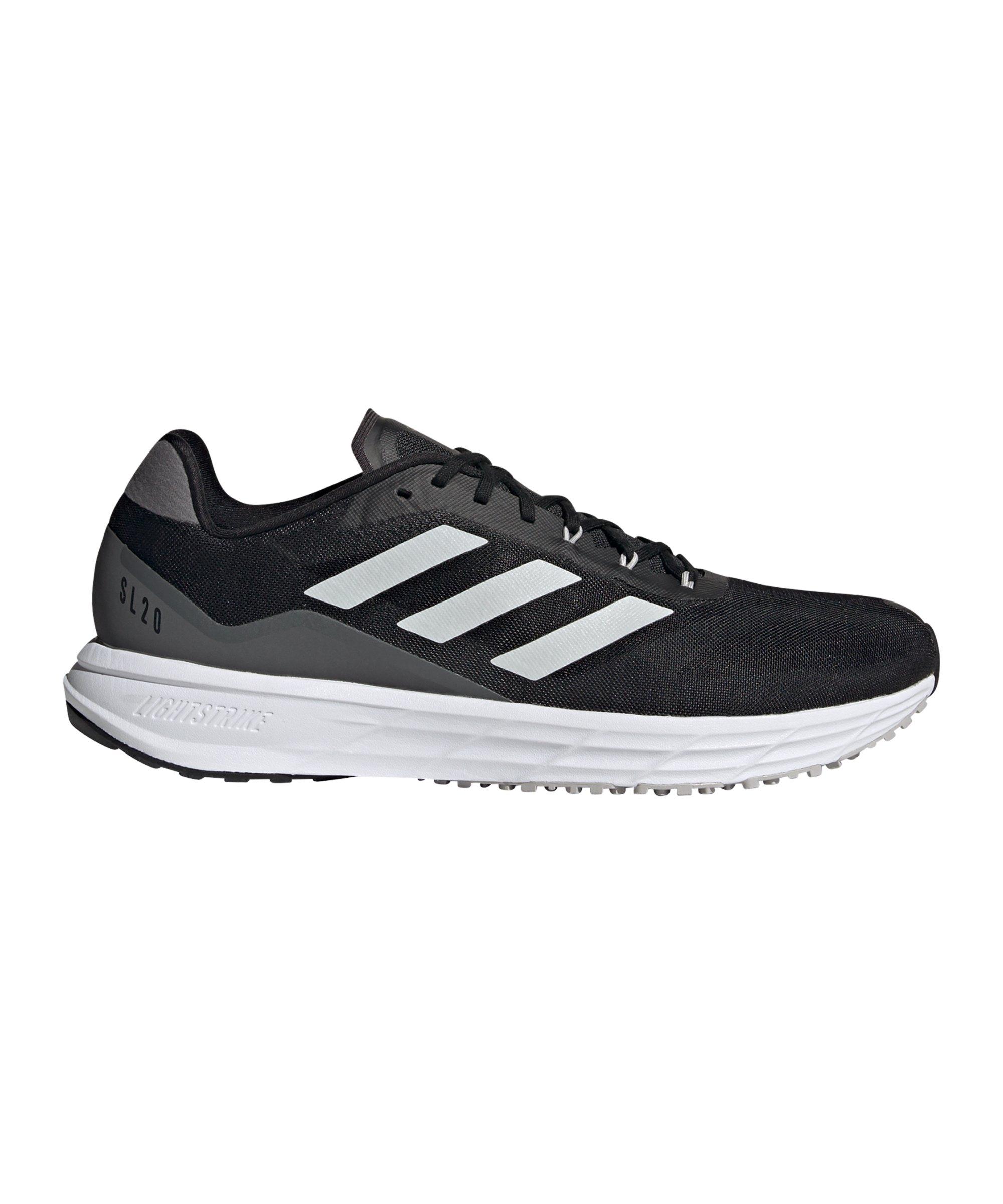 adidas SL20.2 Running Schwarz Weiss - schwarz