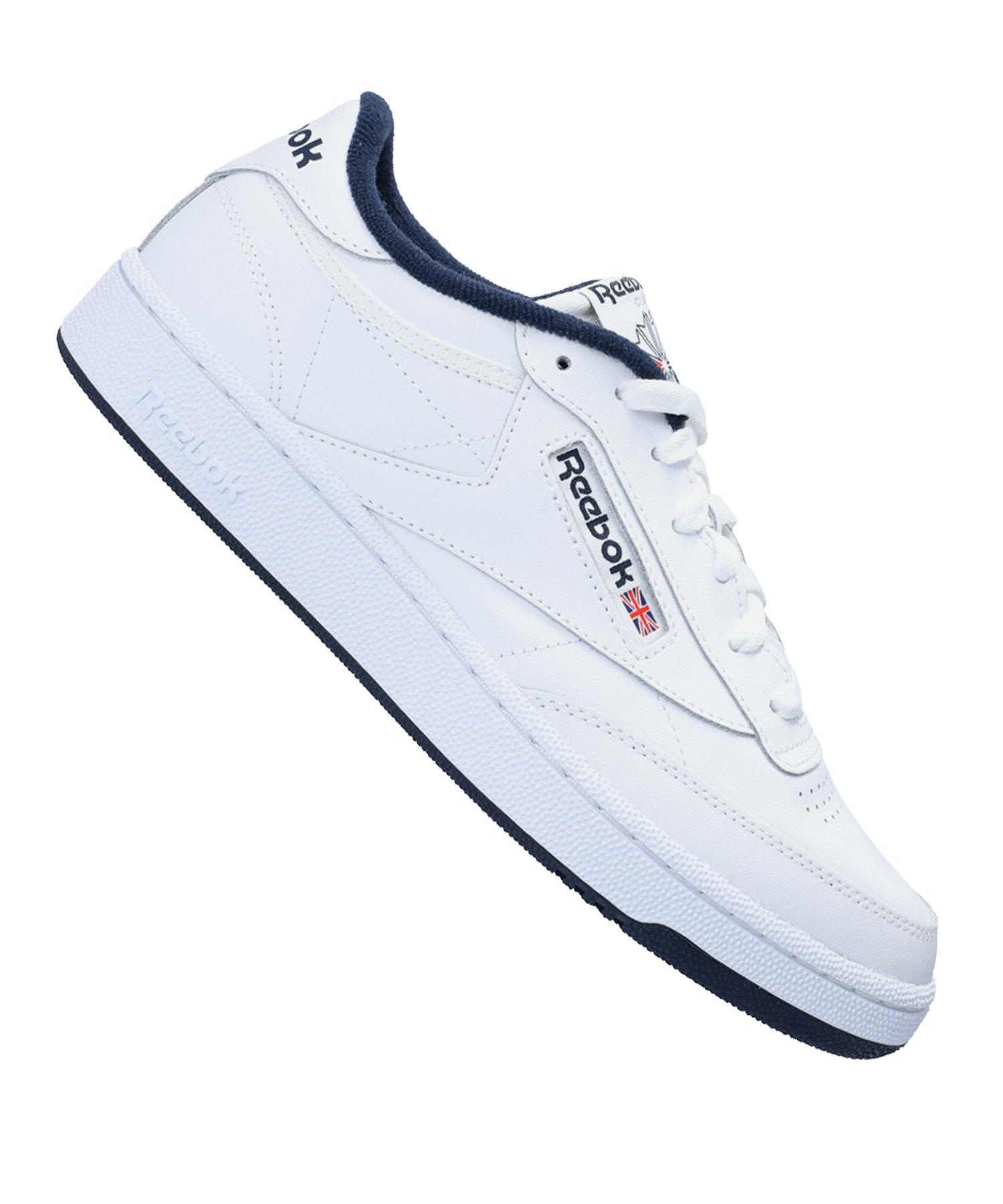 Reebok Club C 85 Sneaker Weiss Blau - weiss