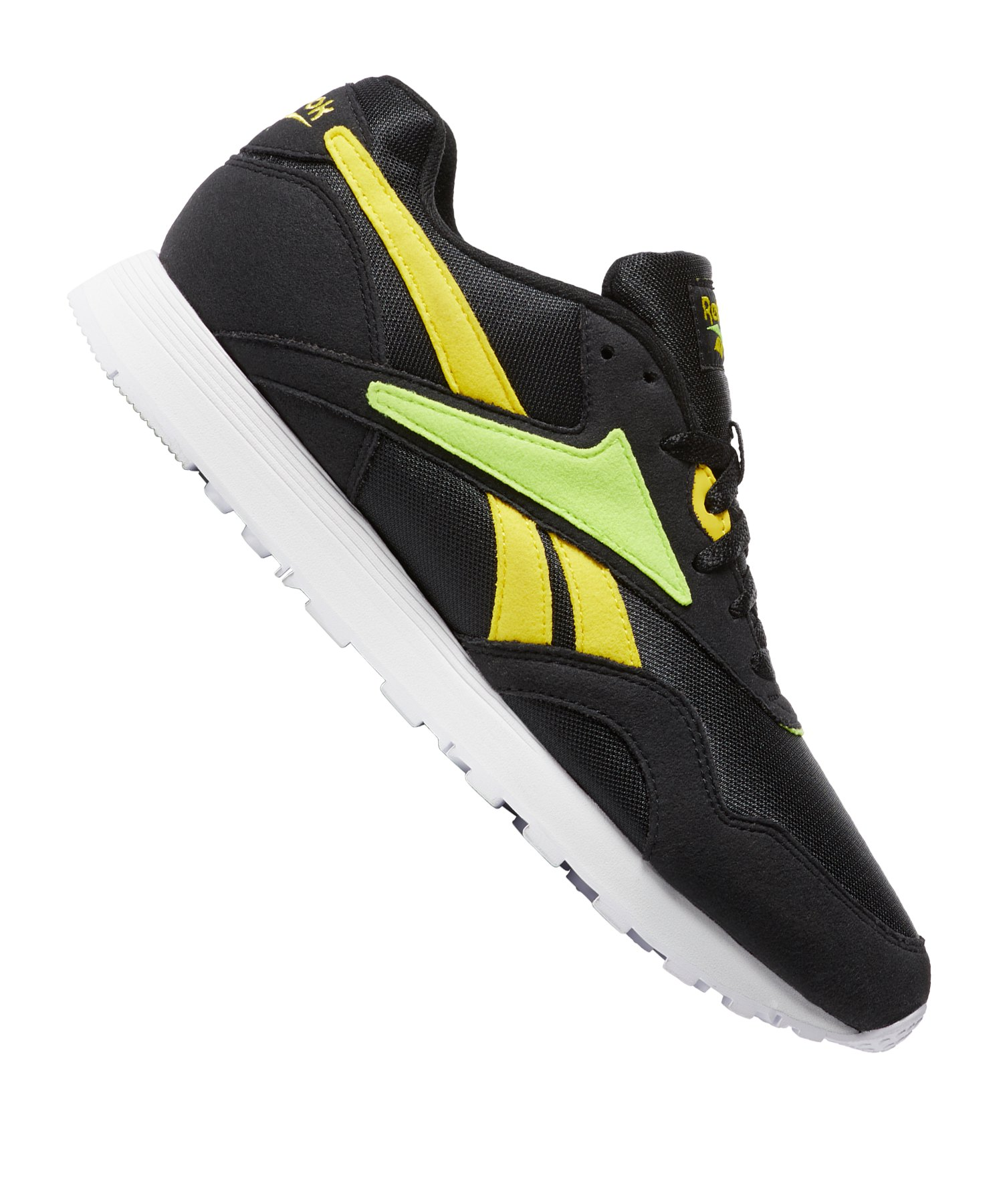 Reebok Rapide MU Sneaker Schwarz Gelb - schwarz