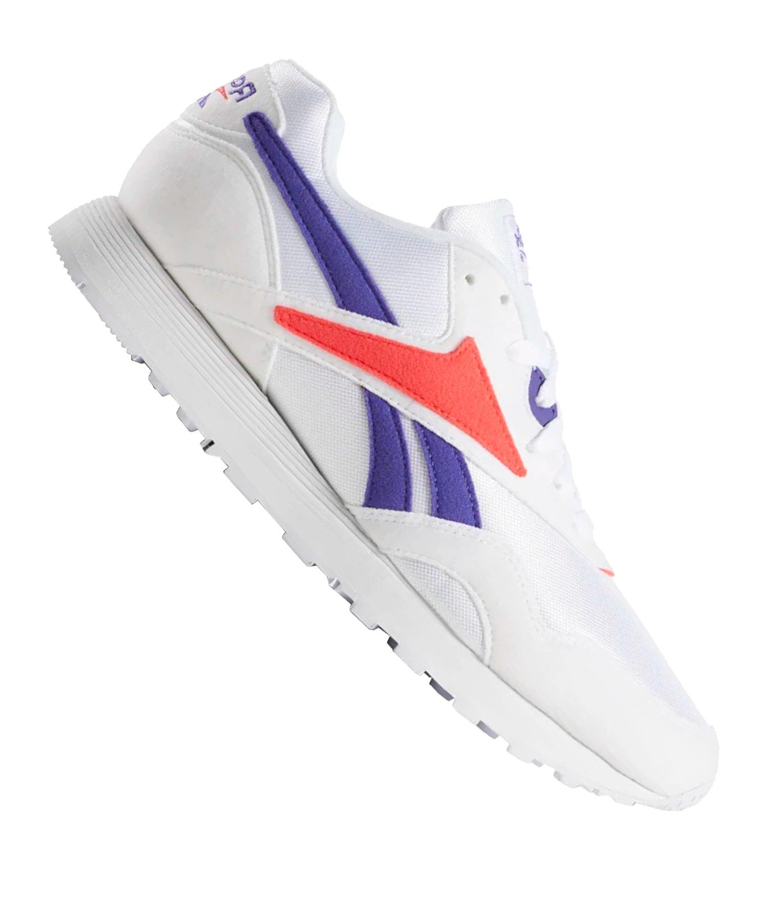 Reebok Rapide MU Sneaker Weiss Lila Rot - weiss