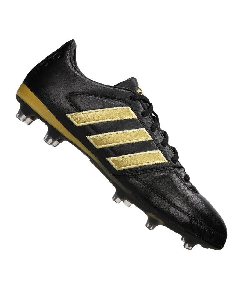adidas FG Gloro 16.1 Schwarz Gold - schwarz