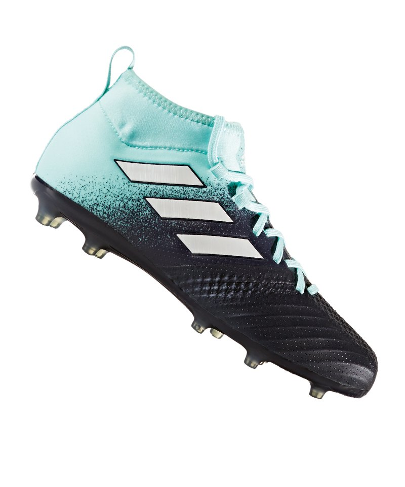 adidas FG ACE 17.1 J Kinder Blau Weiss - blau