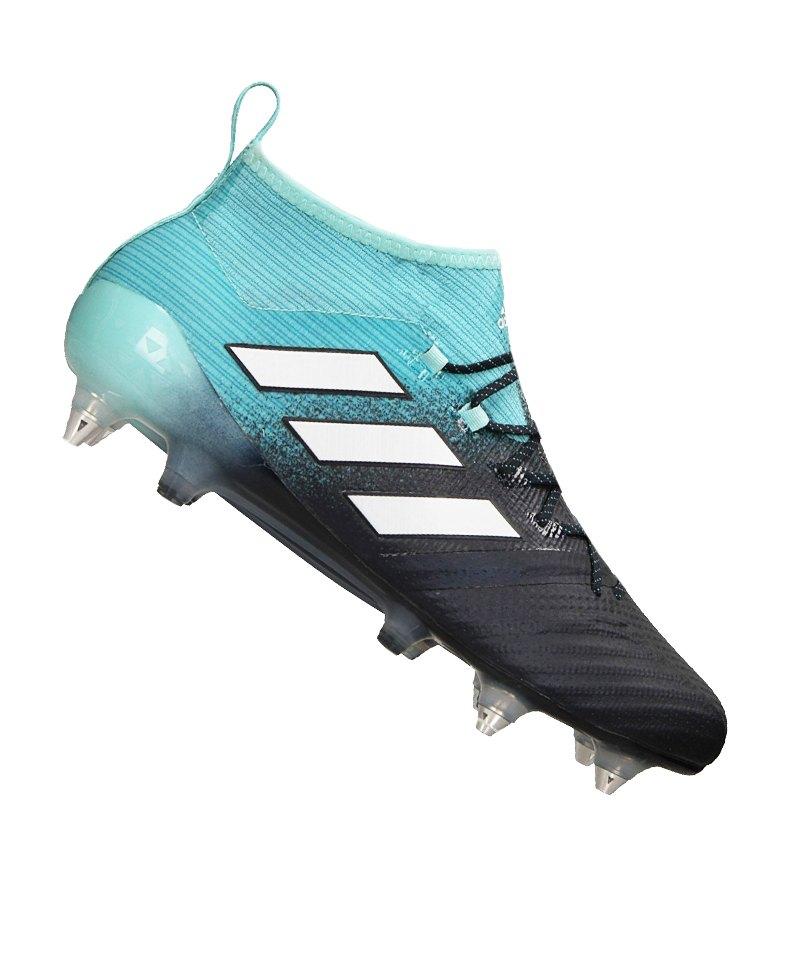 adidas SG ACE 17.1 Primeknit Blau Weiss - blau