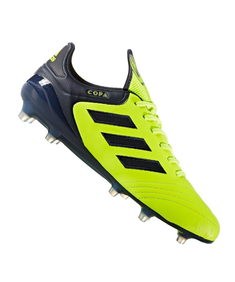 adidas FG COPA 17.1 Gelb Blau - gelb