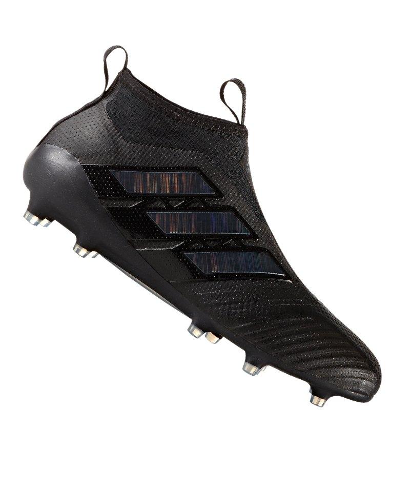 adidas FG ACE 17+ Purecontrol Schwarz - schwarz