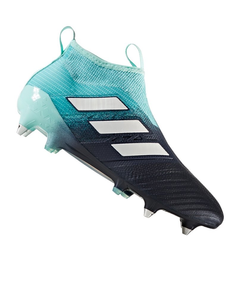 adidas SG ACE 17+ Purecontrol Blau Weiss - blau