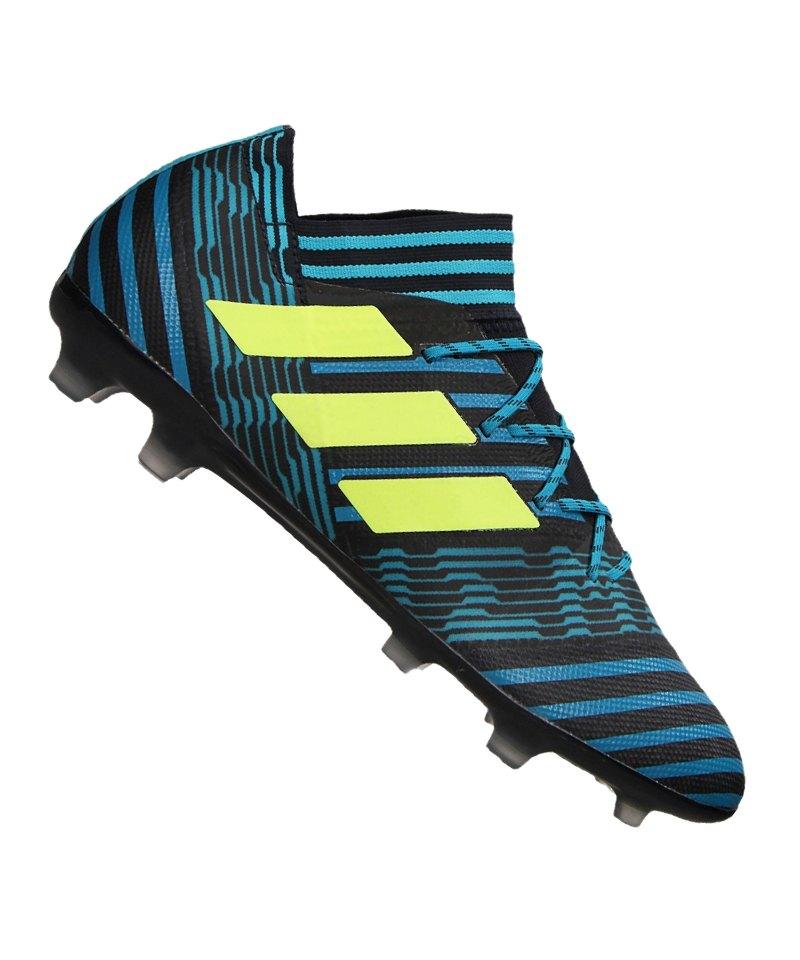 adidas FG NEMEZIZ 17.2 Blau Gelb - blau