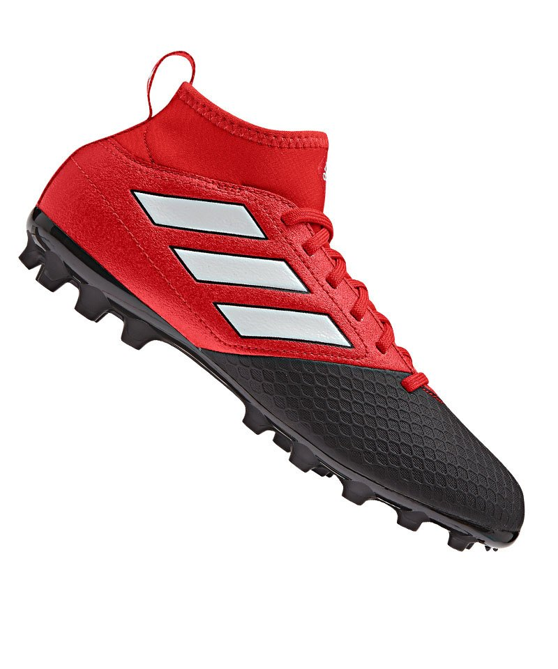 adidas AG ACE 17.3 Primemesh J Kinder Rot Schwarz - rot