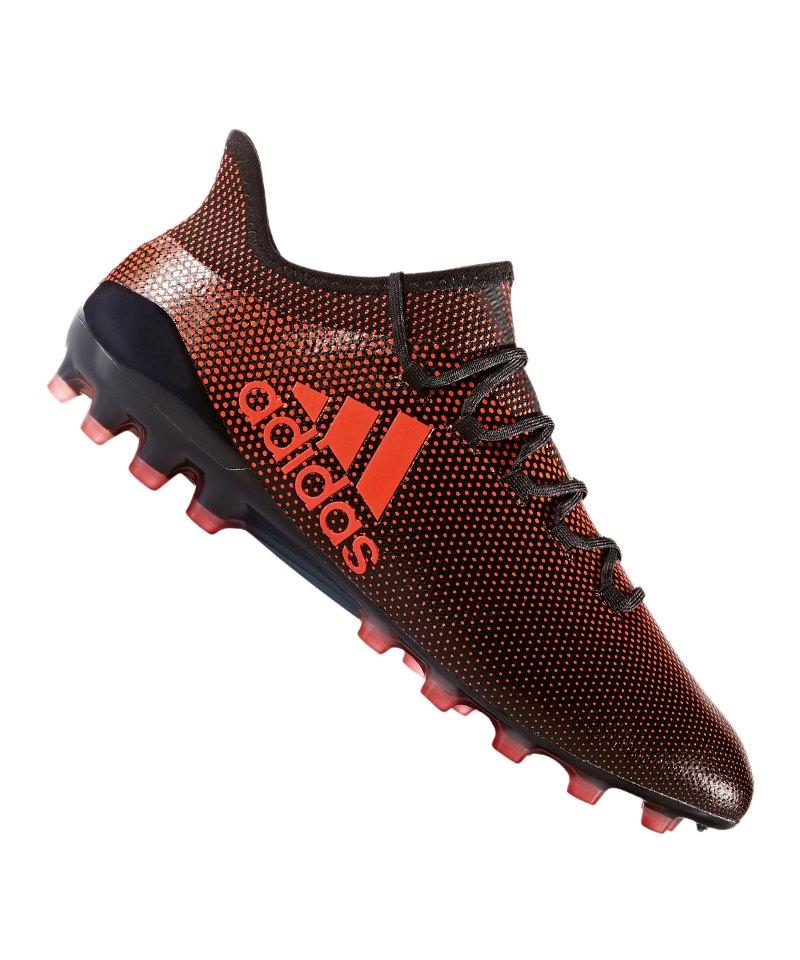 adidas X 17.1 AG Schwarz Rot - schwarz