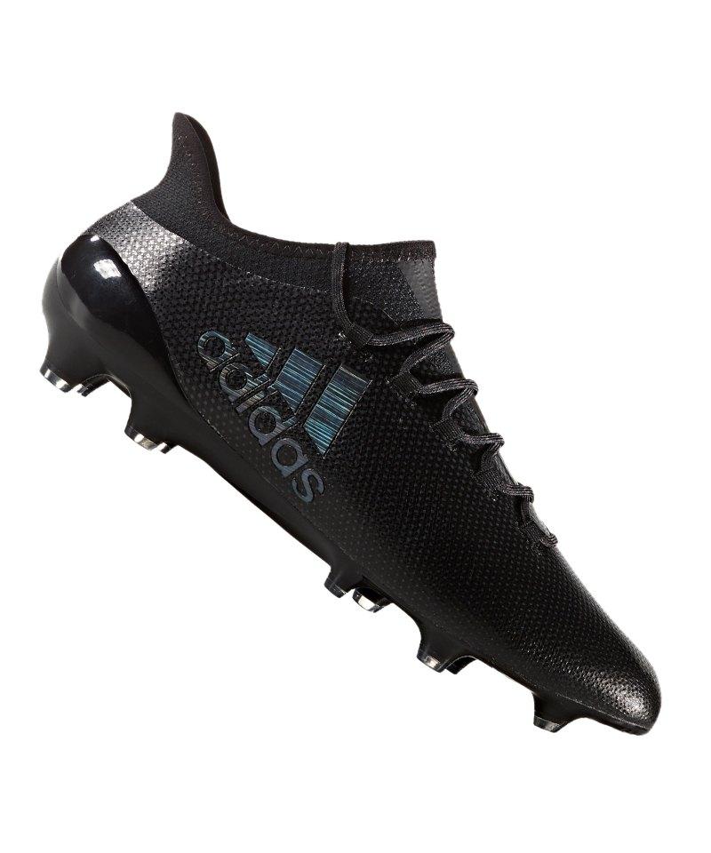 adidas FG X 17.1 Schwarz - schwarz