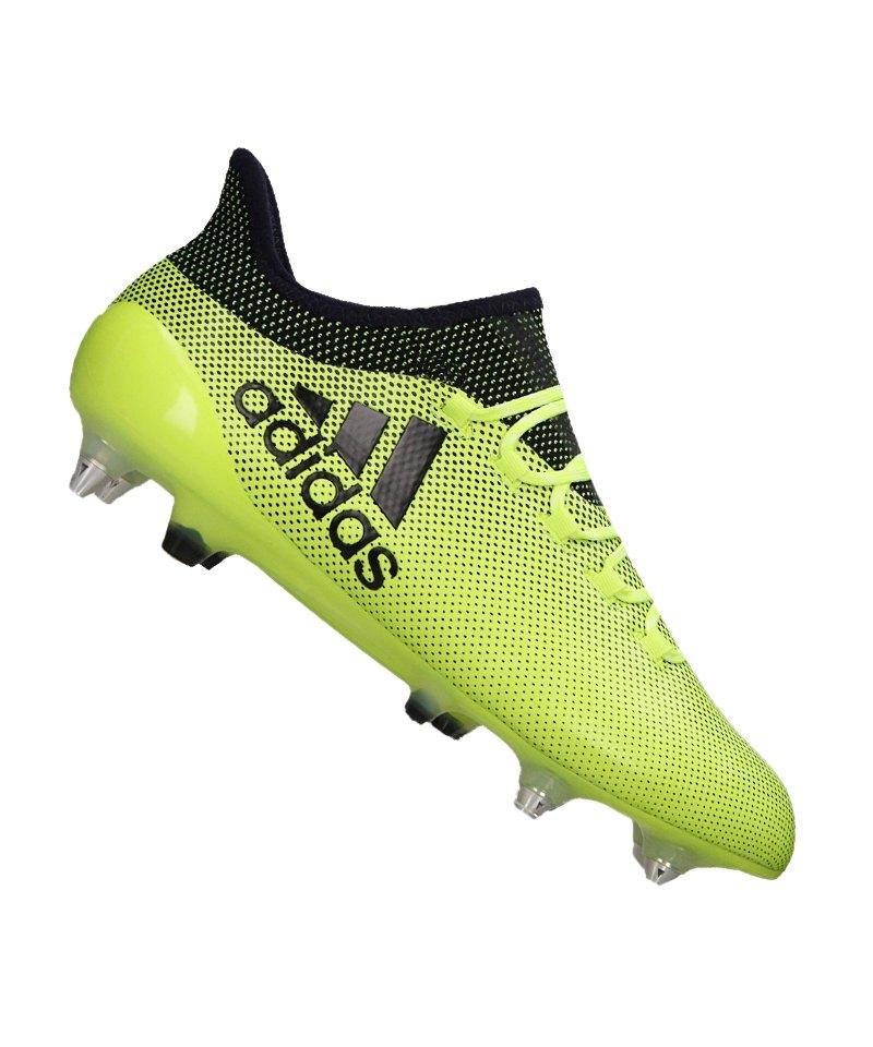 adidas SG X 17.1 Gelb Blau - gelb