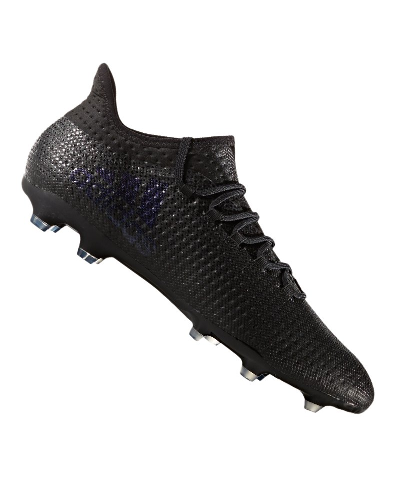 adidas FG X 17.2 Schwarz - schwarz