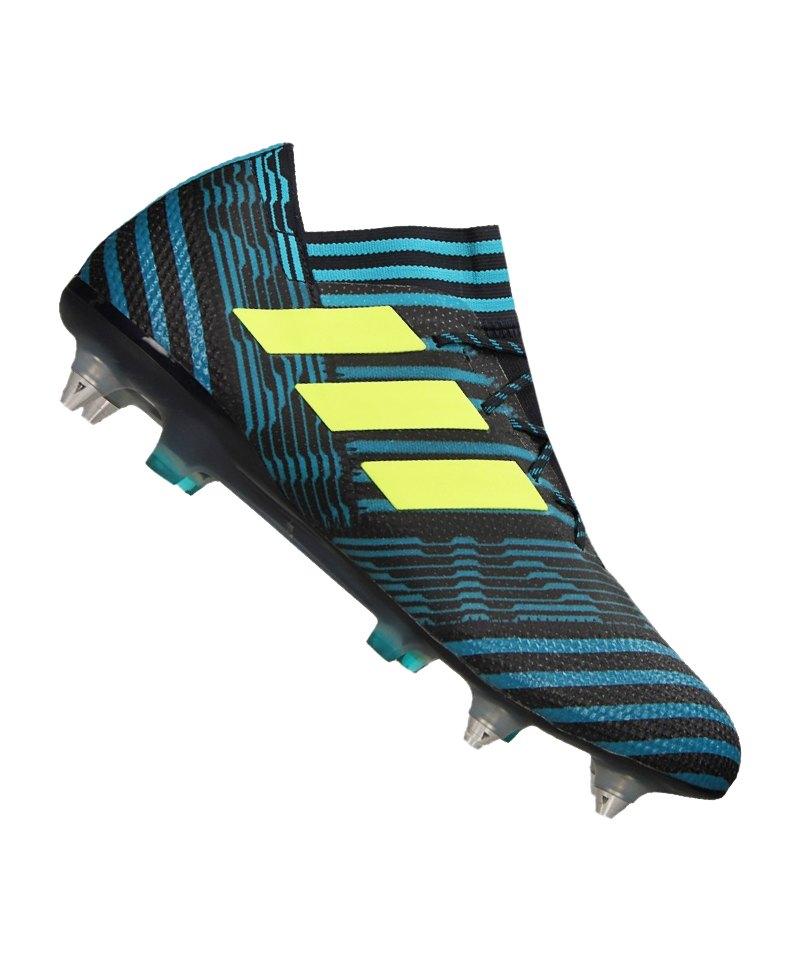 adidas SG NEMEZIZ 17.1 Blau Gelb - blau