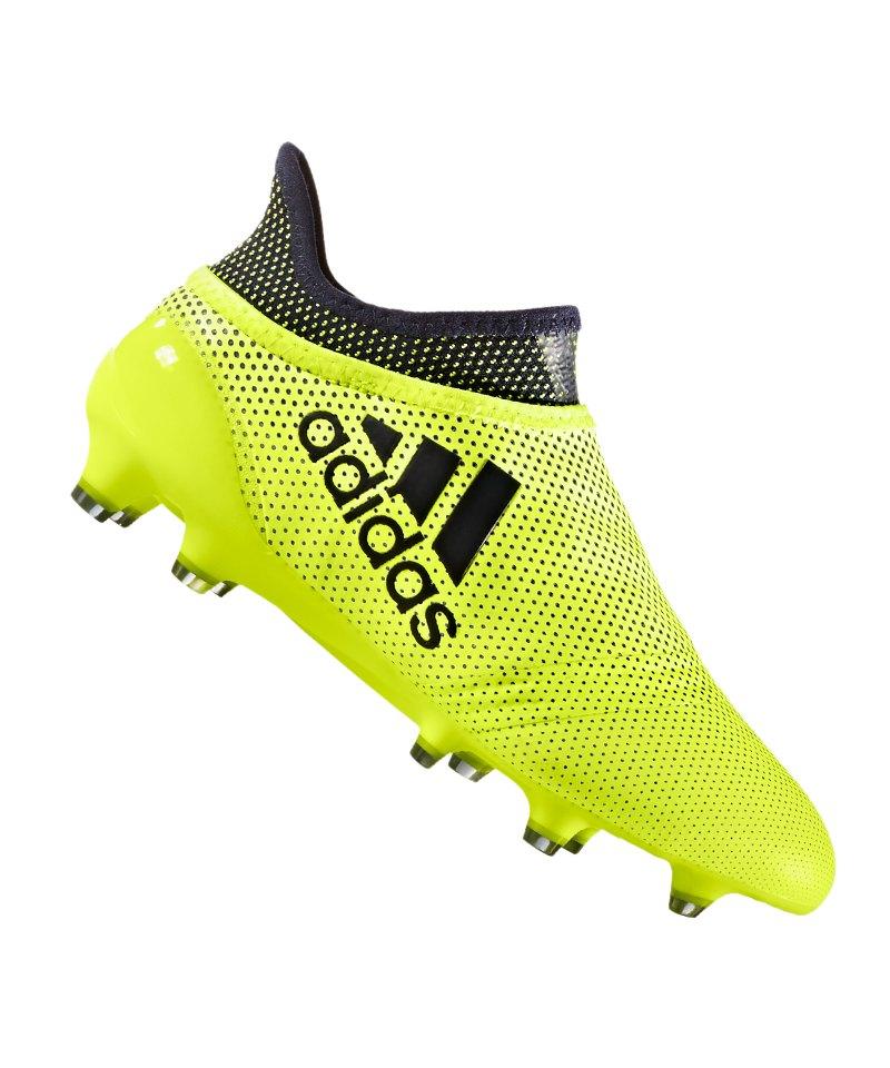 adidas FG X 17+ Purespeed J Kinder Gelb Blau - gelb