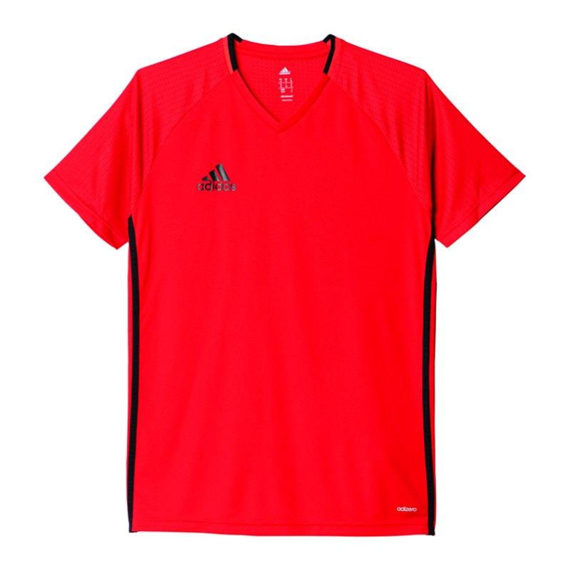 adidas Trainingsshirt Condivo 16 Rot Schwarz - rot