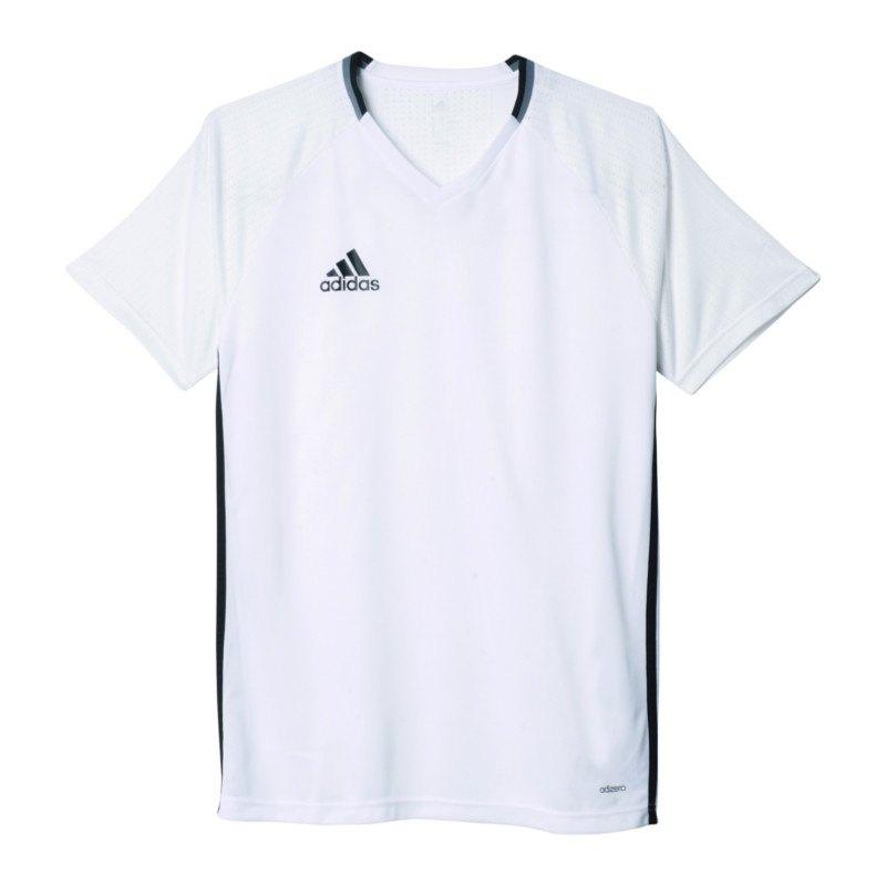 adidas Trainingsshirt Condivo 16 Weiss Schwarz - weiss