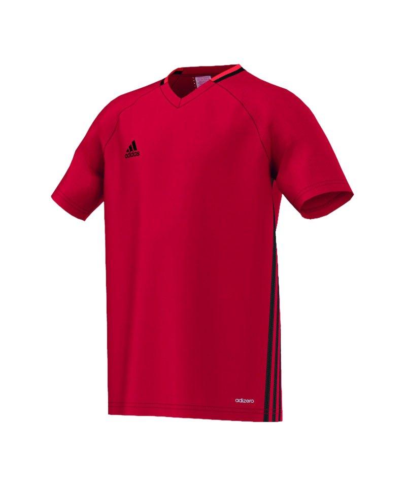 adidas Trainingsshirt Condivo 16 Kinder Rot - rot