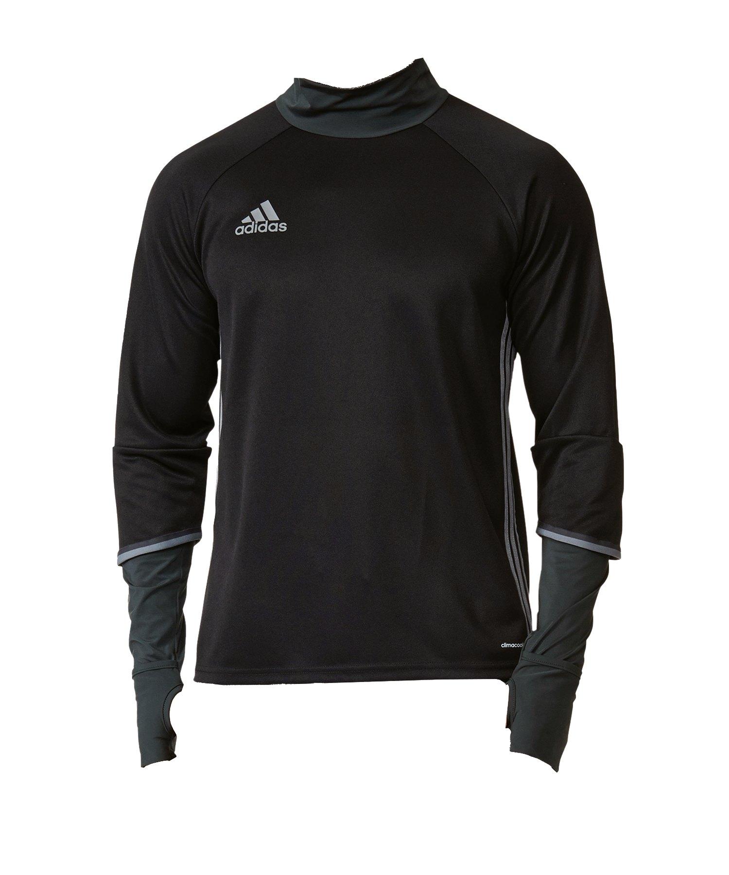 adidas Condivo 16 Training Top Schwarz Grau - schwarz