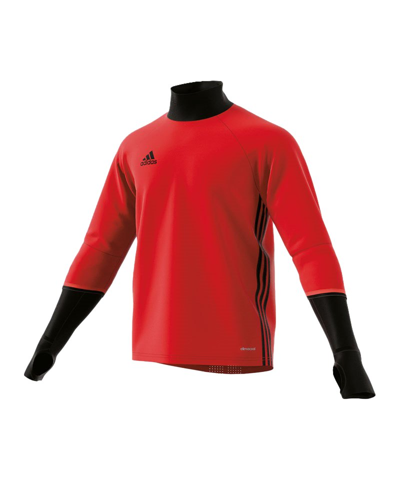 adidas Condivo 16 Training Top Kinder Rot Schwarz - rot
