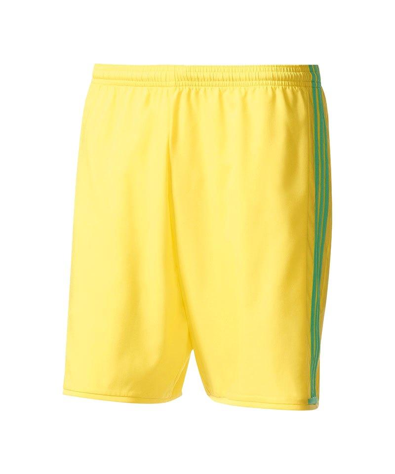 adidas Short Condivo 16 Gelb Grün - gelb