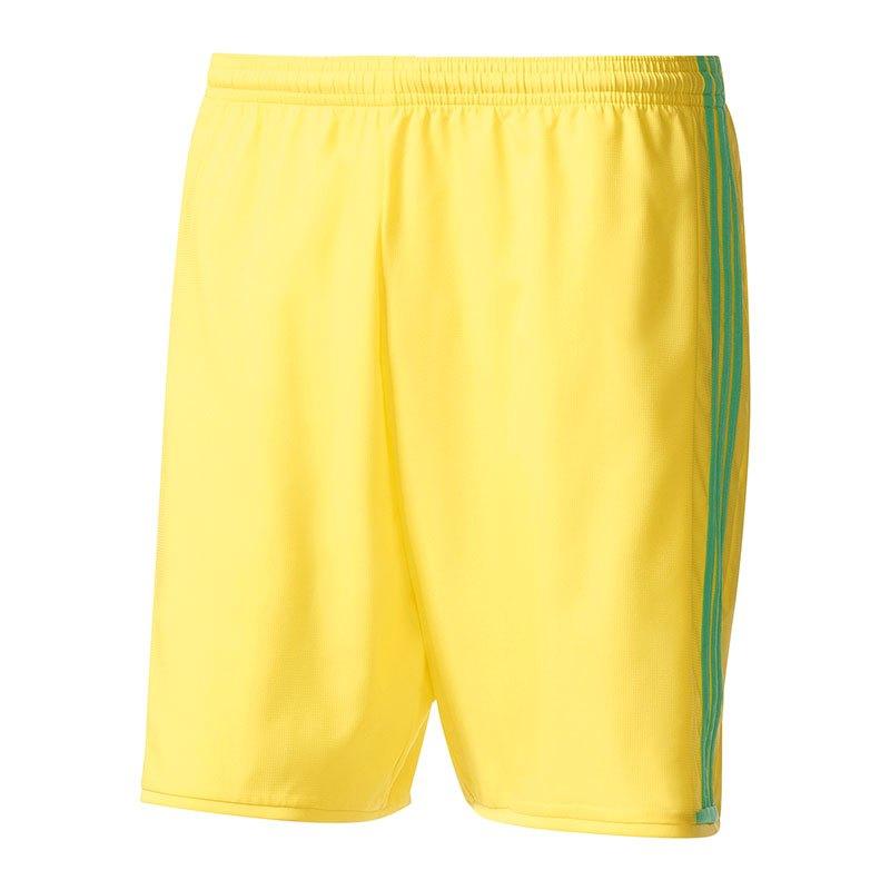 adidas Short Condivo 16 Kinder Gelb Grün - gelb