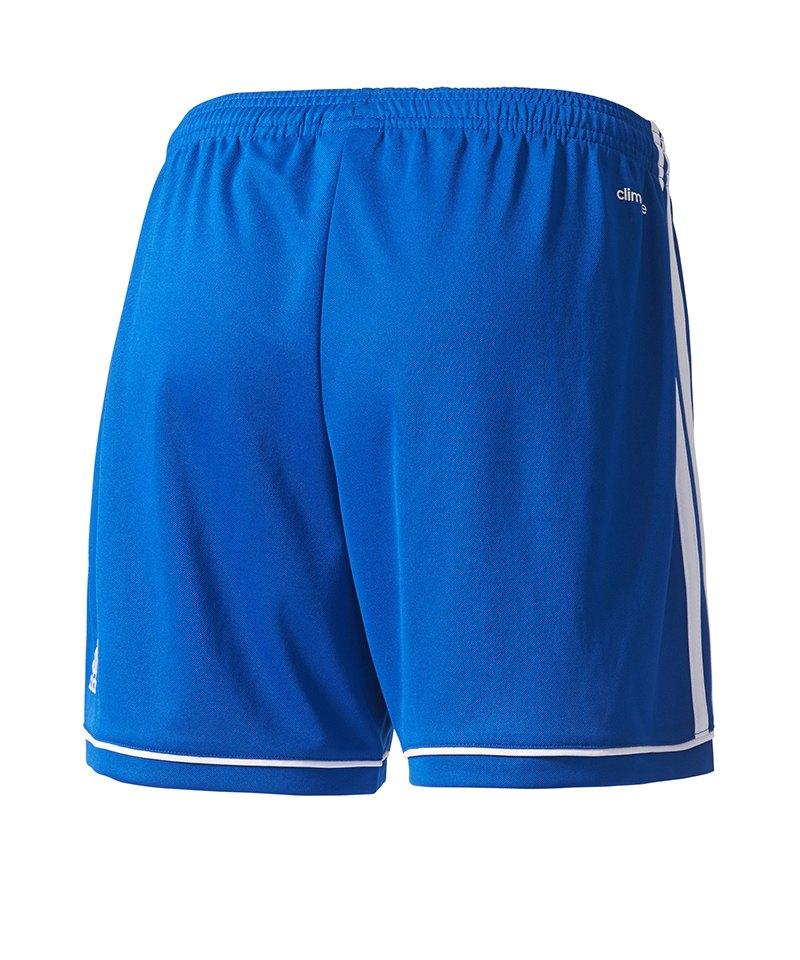 adidas Squadra 17 Short o. Innenslip Damen Blau